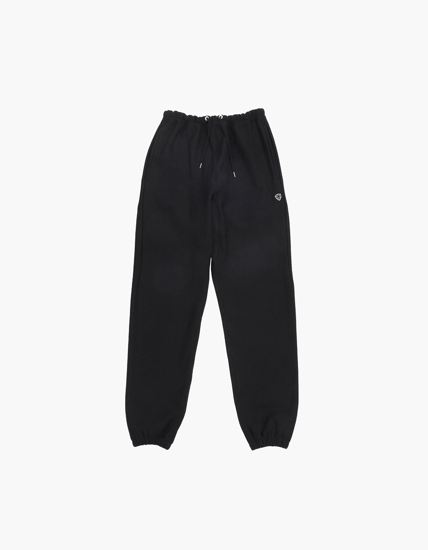 HELINOX X HERITAGEFLOSS 221 REVERSE SWEATPANTS / BLACK