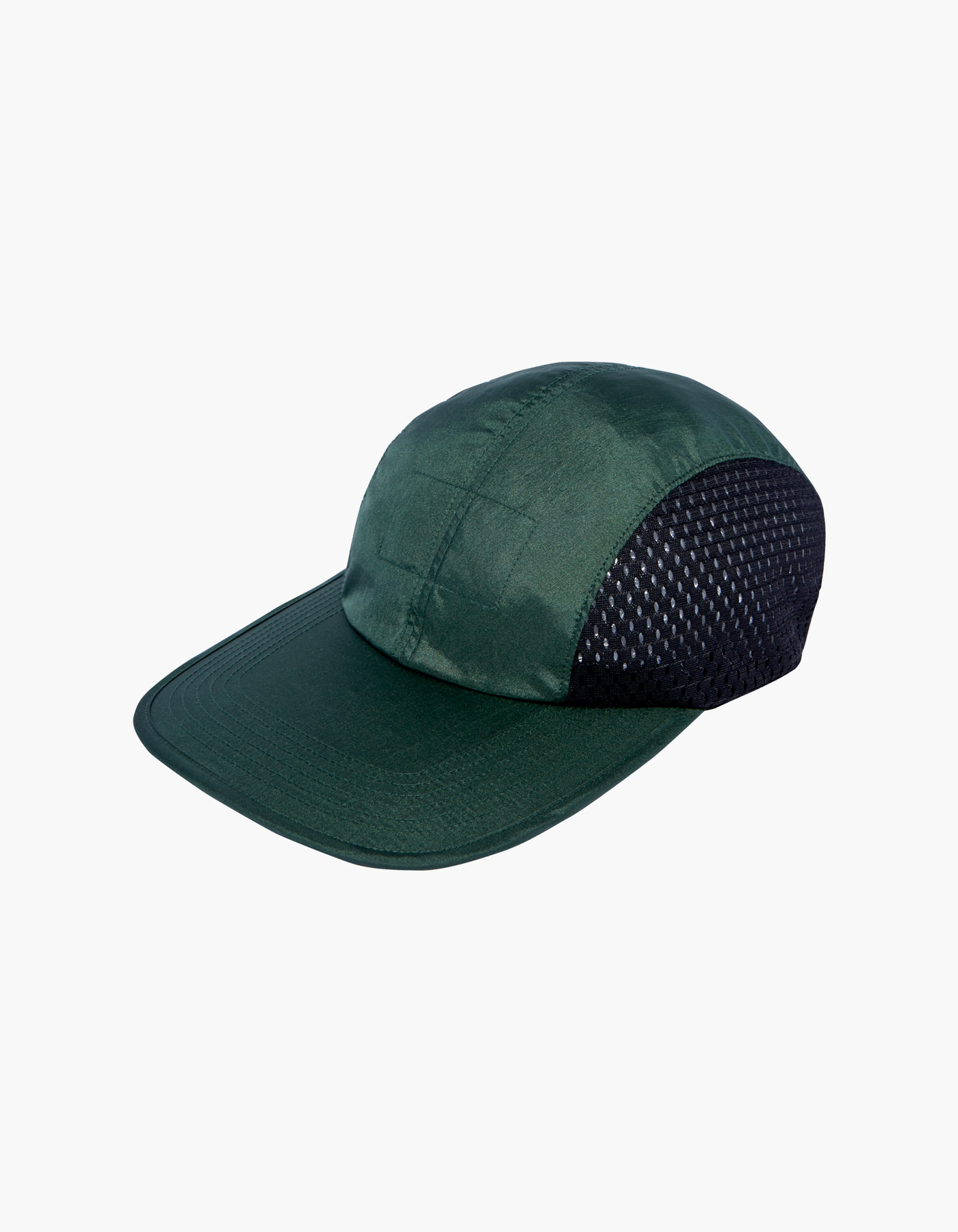 NYLON AURORA WASHER CAP II / DARK GREEN