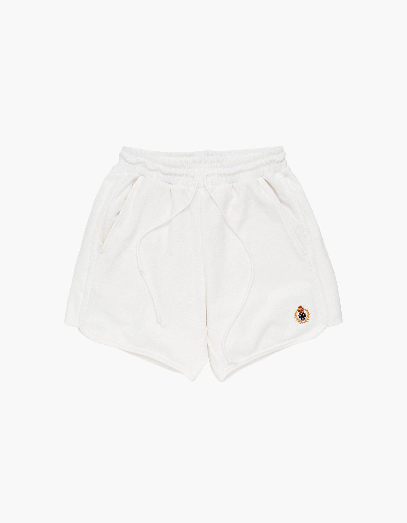 HFC CREST TOWEL SHORTS / OFF WHITE
