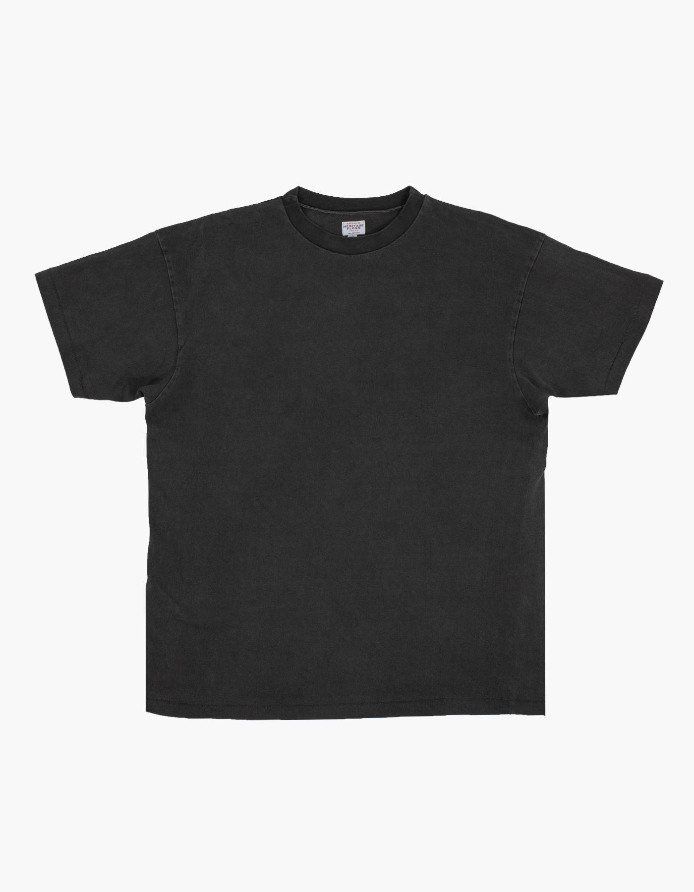 PIGMENT COMPACT YARN T-SHIRTS / CHARCOAL