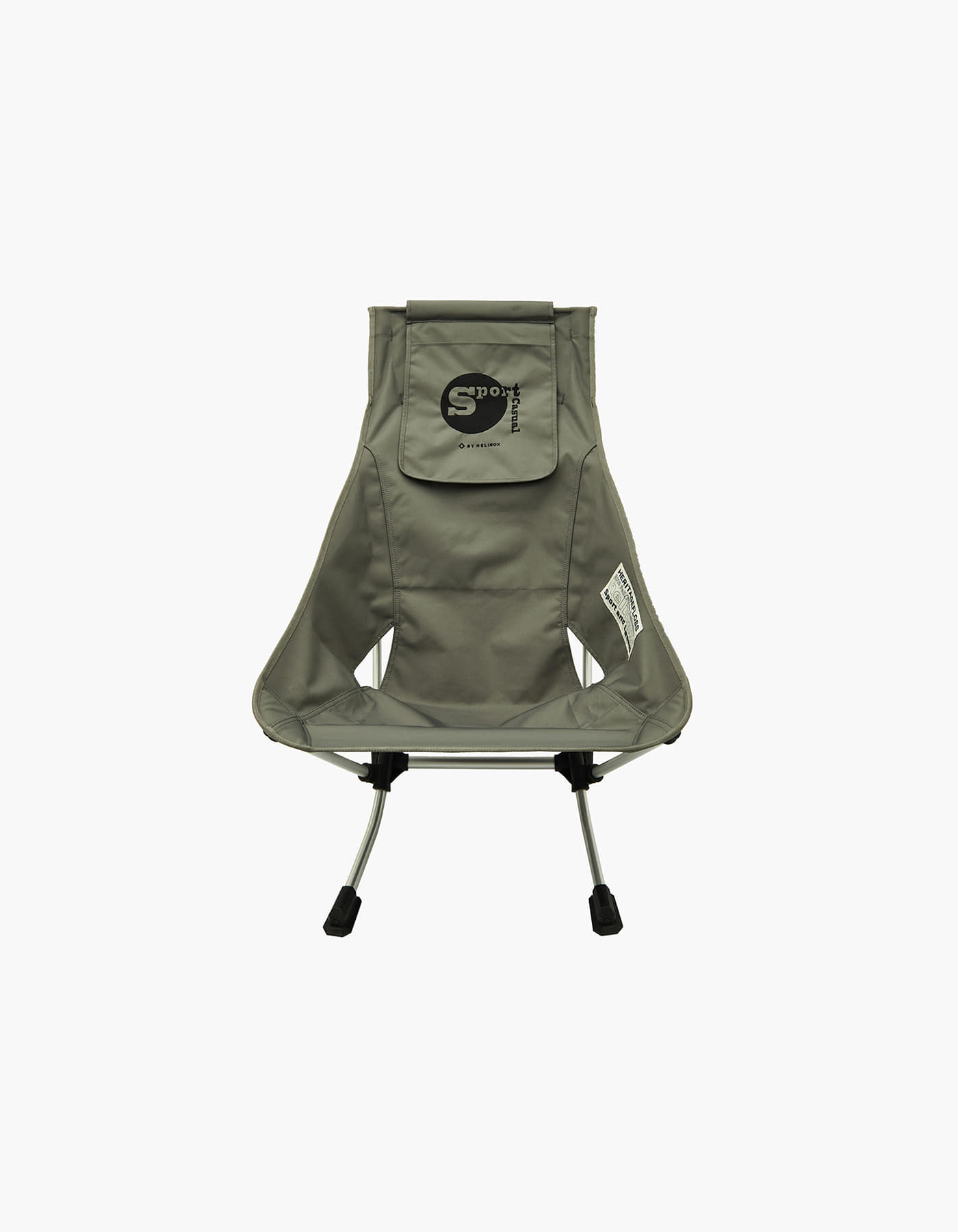 HELINOX X HERITAGEFLOSS BEACH CHAIR / FOLIAGE GREEN