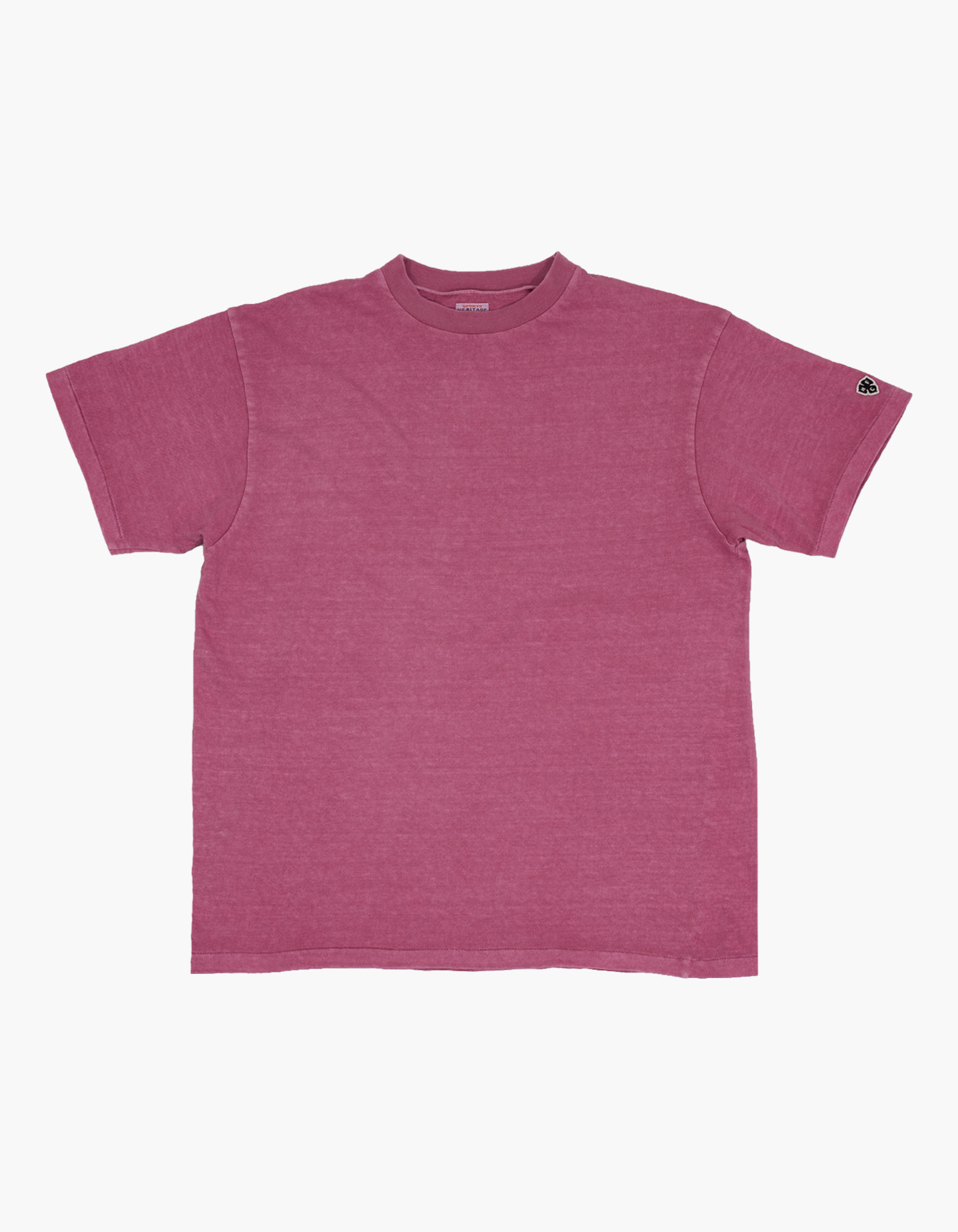 PIGMENT COMPACT YARN T-SHIRTS / LAVENDER