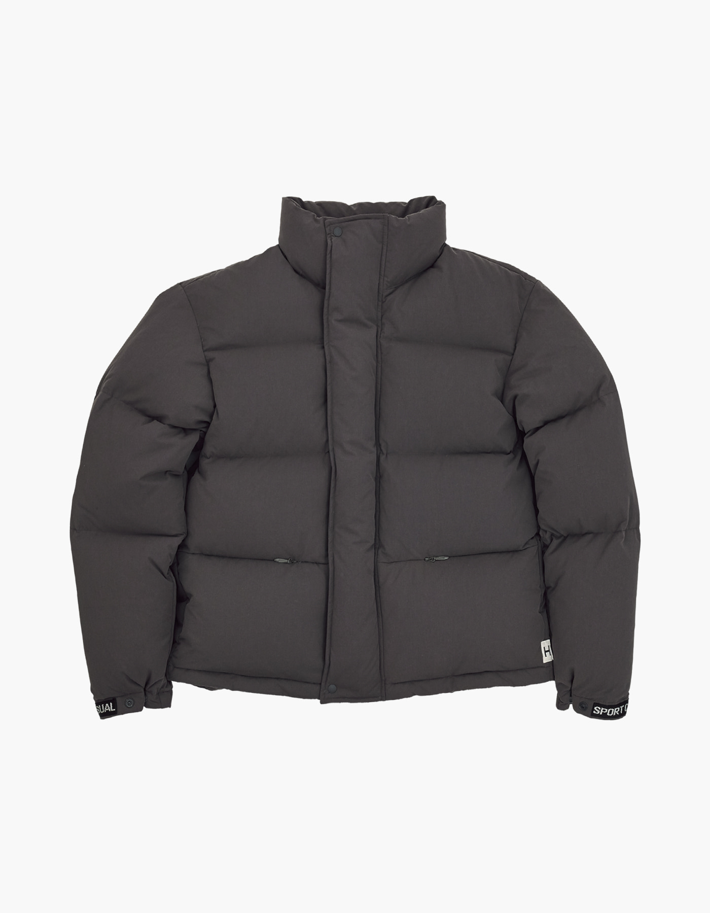 700 PUFFY GOOSE DOWN JACKET / CHARCOAL