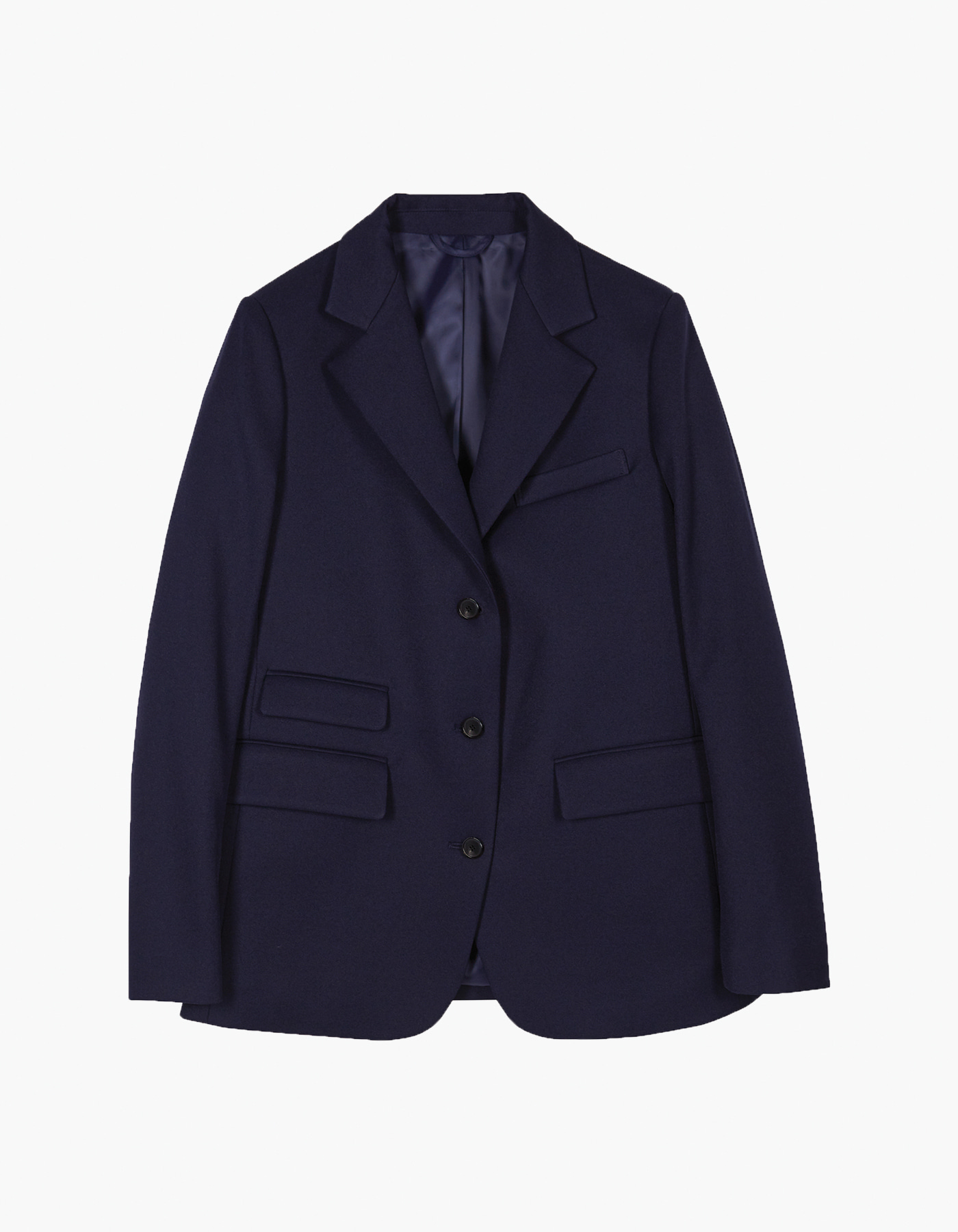 SARTORIA JUN TECHNIQUE X HERITAGEFLOSS BLAZER (W) / NAVY