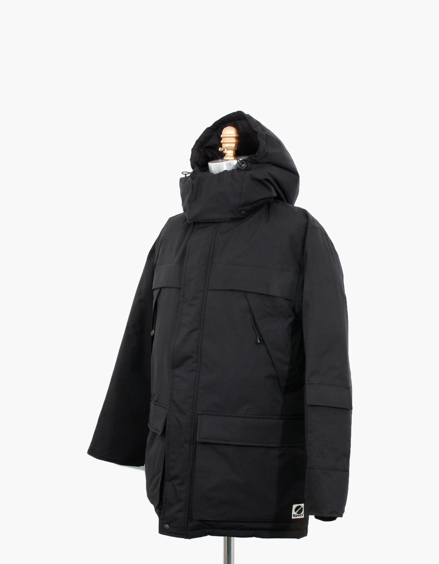 MOUNTAIN GOOSE DOWN PARKA / BLACK