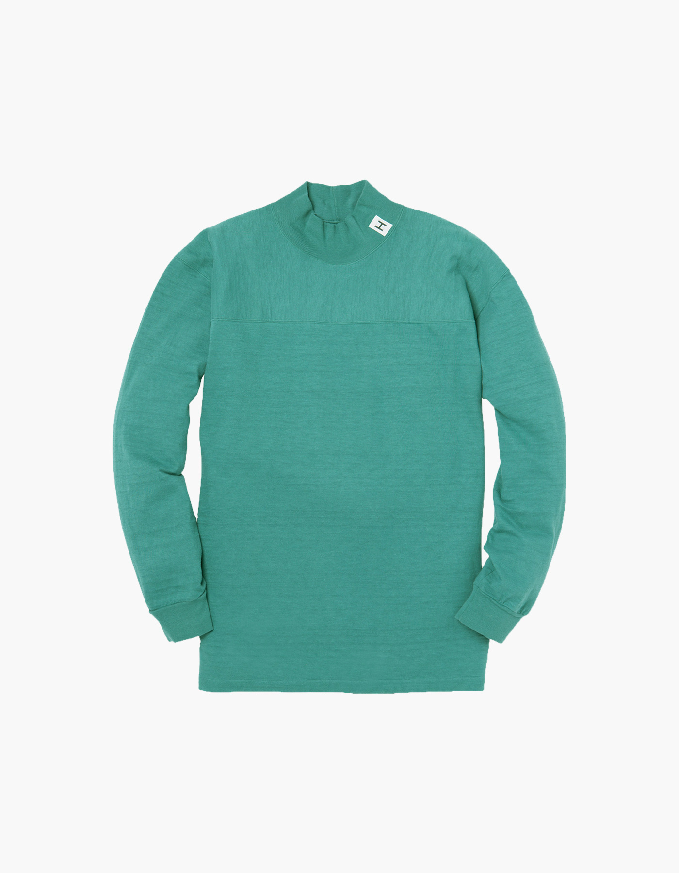 H FOOTBALL SLUB MOC-NECK BY DUBBLE WORKS / GREEN