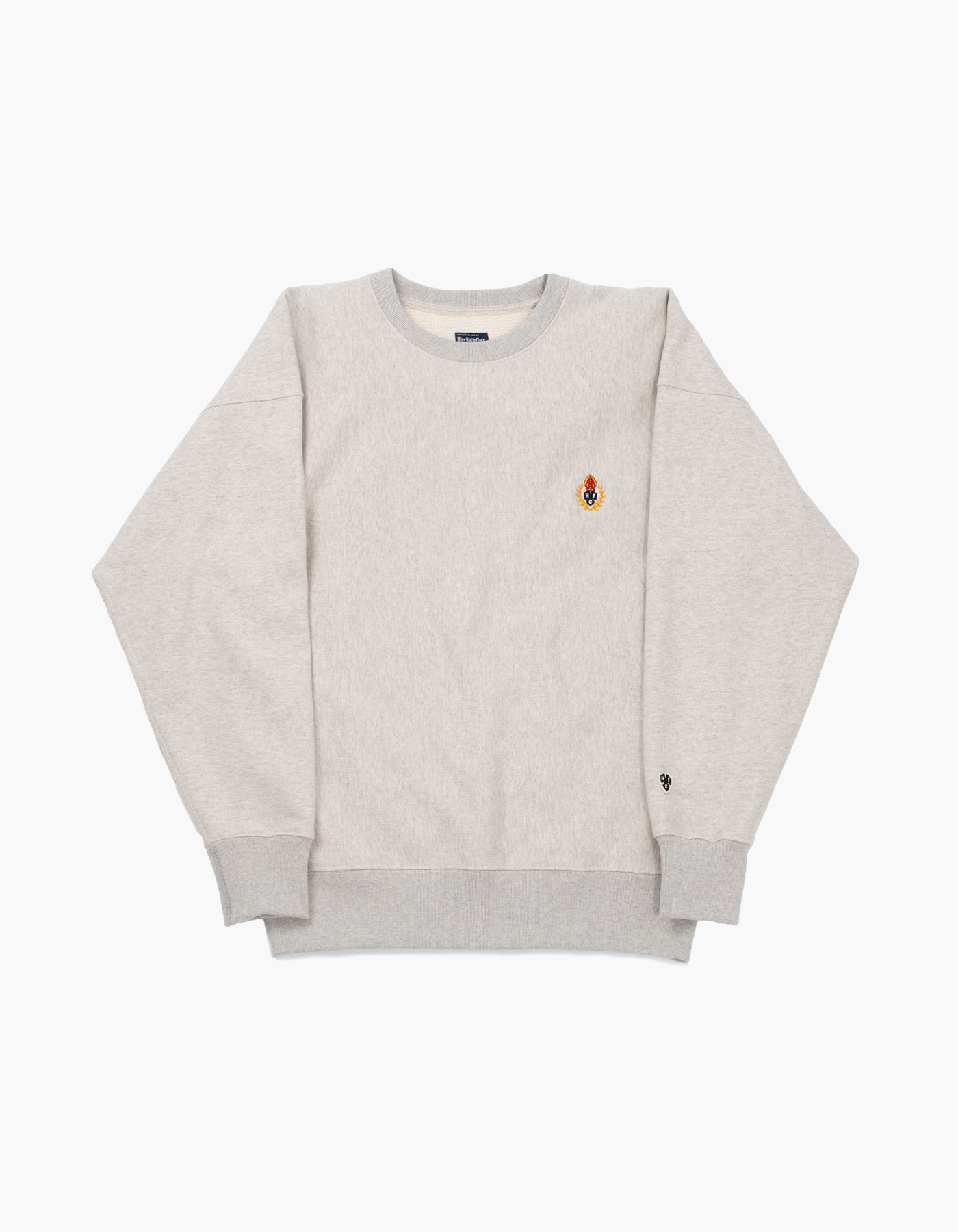 231 HFC CREWNECK / M.GREY (1%)