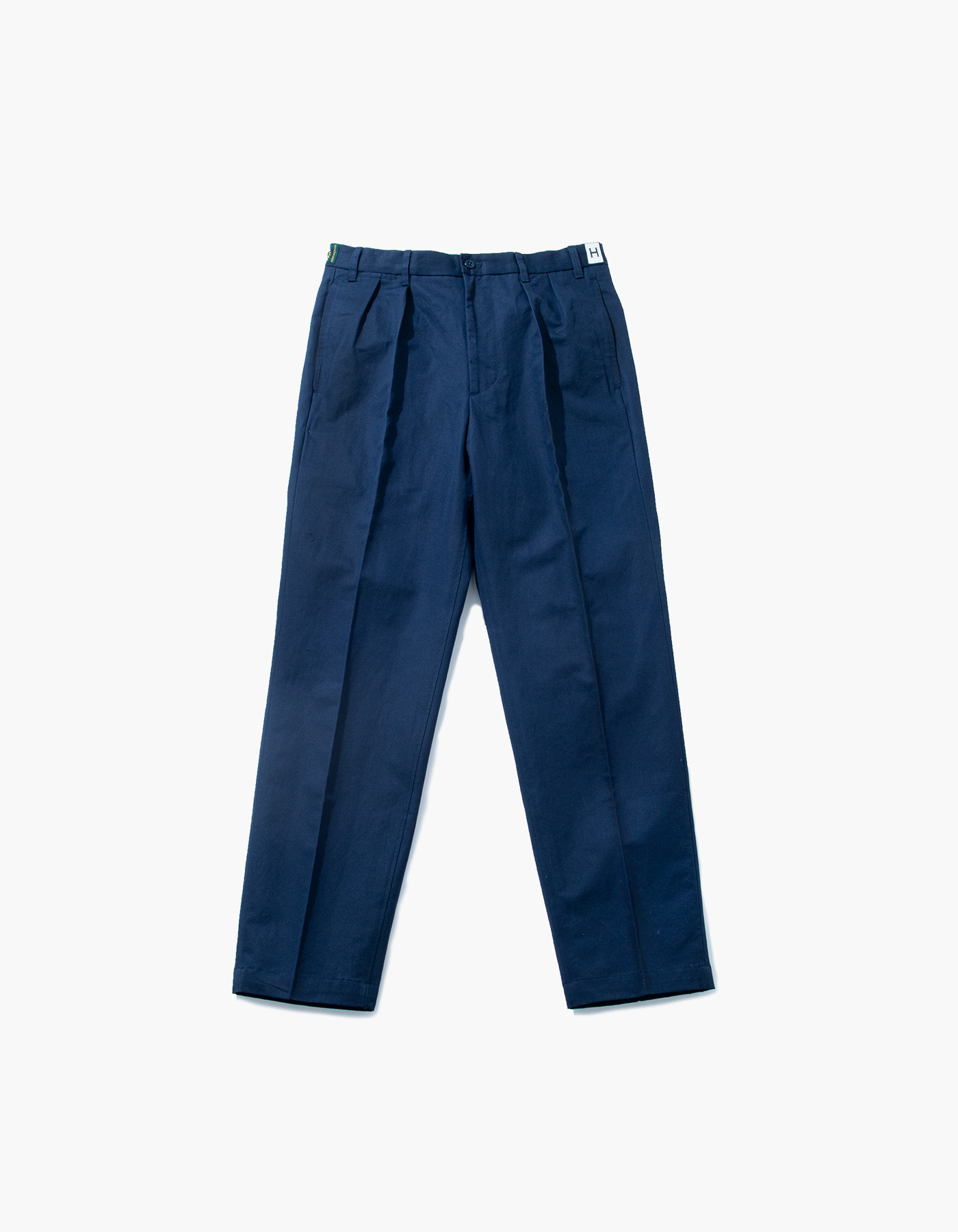 VINTAGE WASHER LINEN CHINO PANTS / NAVY