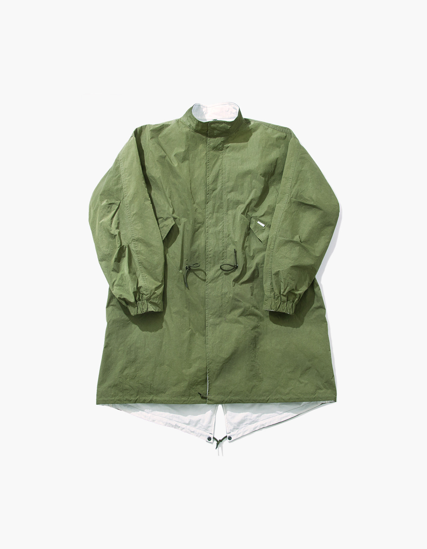 SALT NYLON REVERSIBLE FISHTAIL / OLIVE