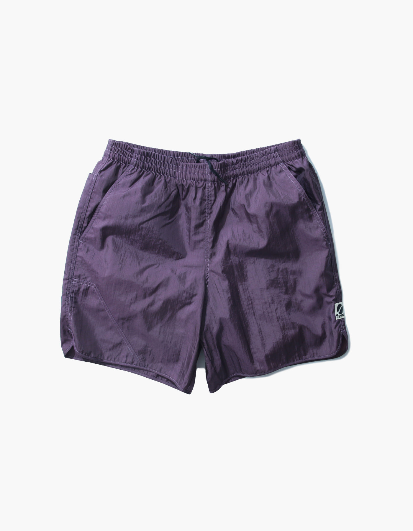 NYLON DIAMOND WASHER SHORTS II / PURPLE