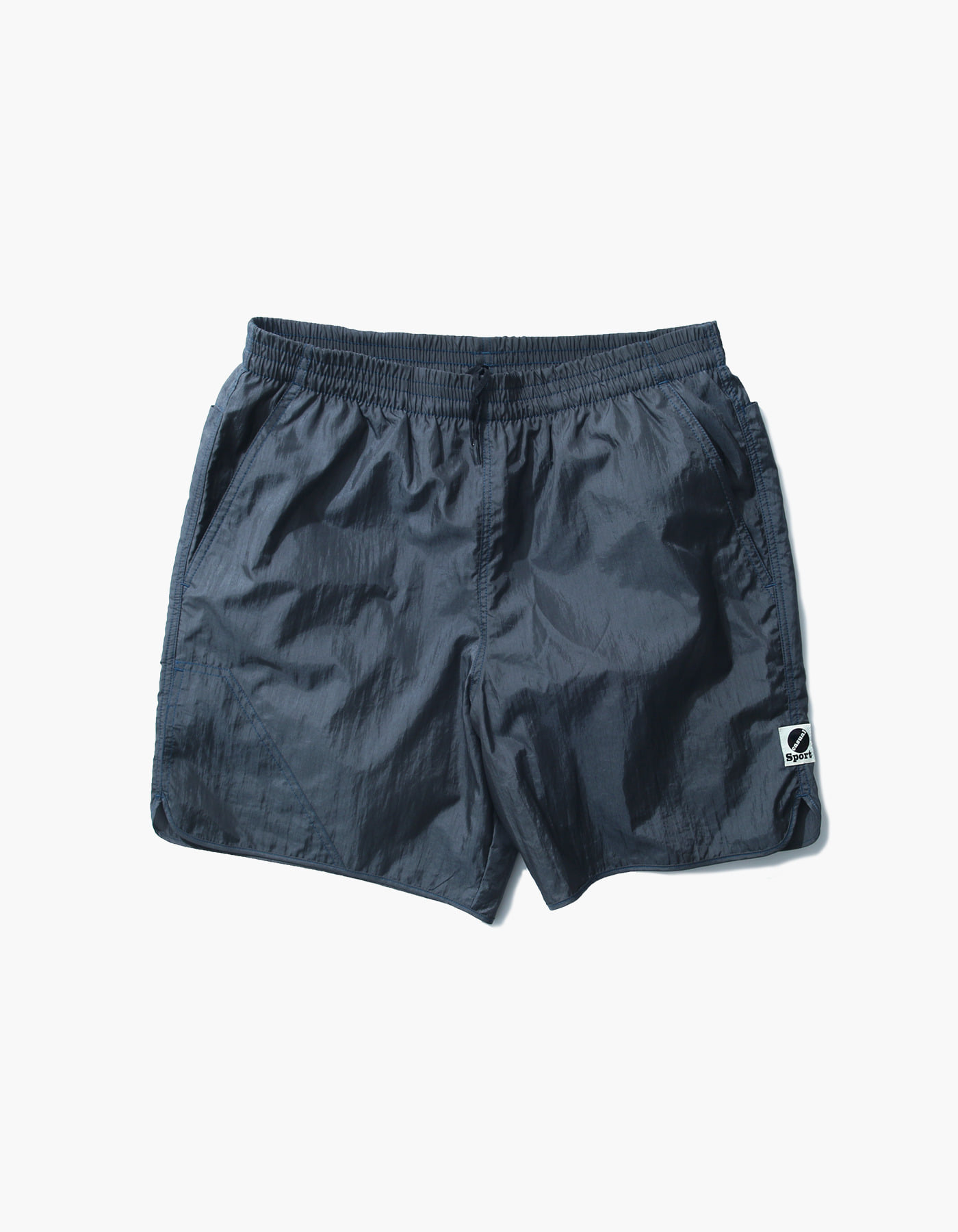 NYLON DIAMOND WASHER SHORTS II / FOLIAGE GREEN