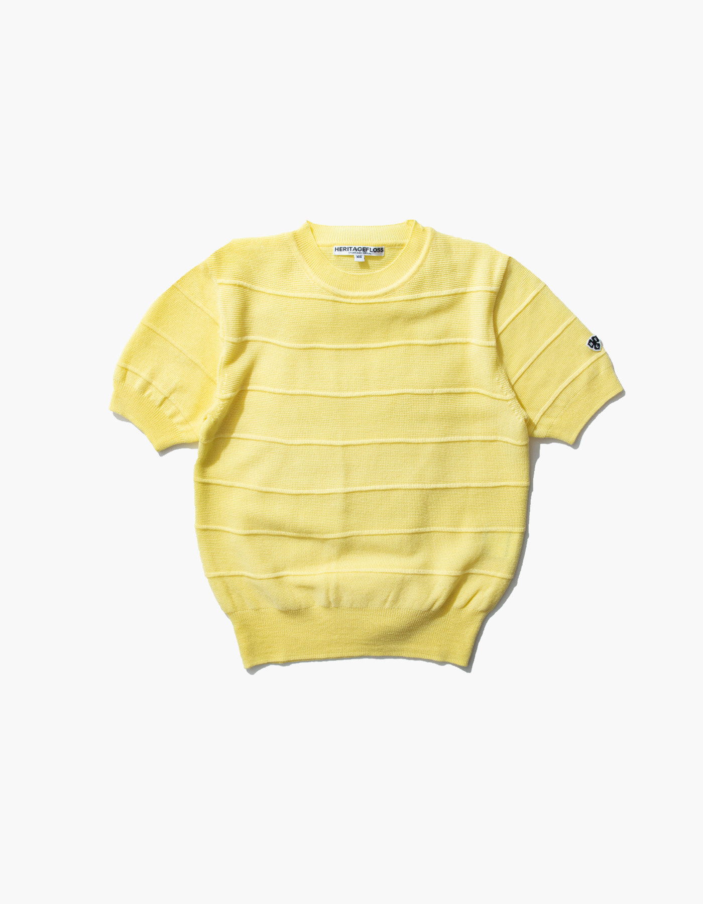 HFC CLOVER HALF SLEEVE (W) / LIGHT YELLOW