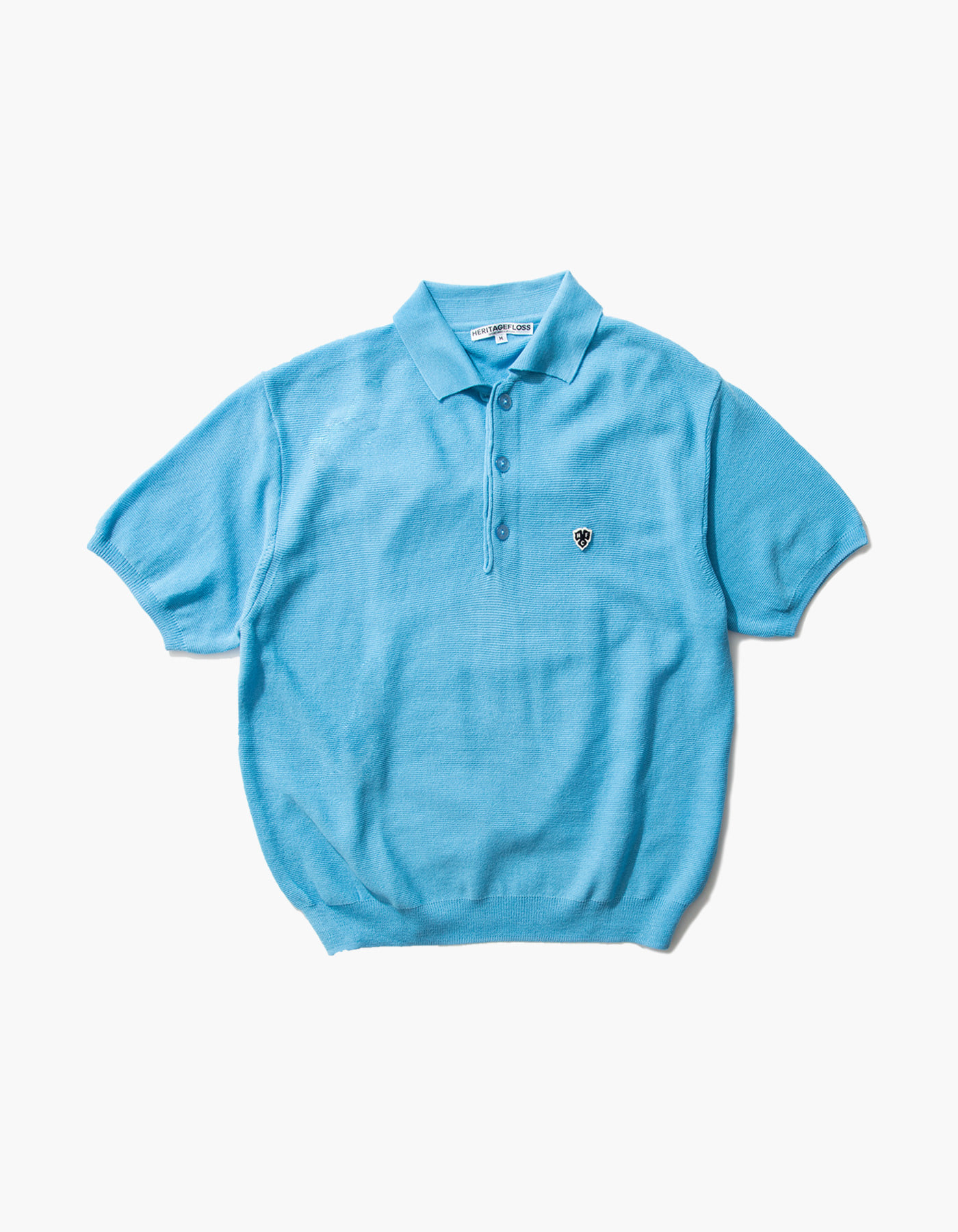 HFC CLOVER POLO SHIRTS / SKY BLUE