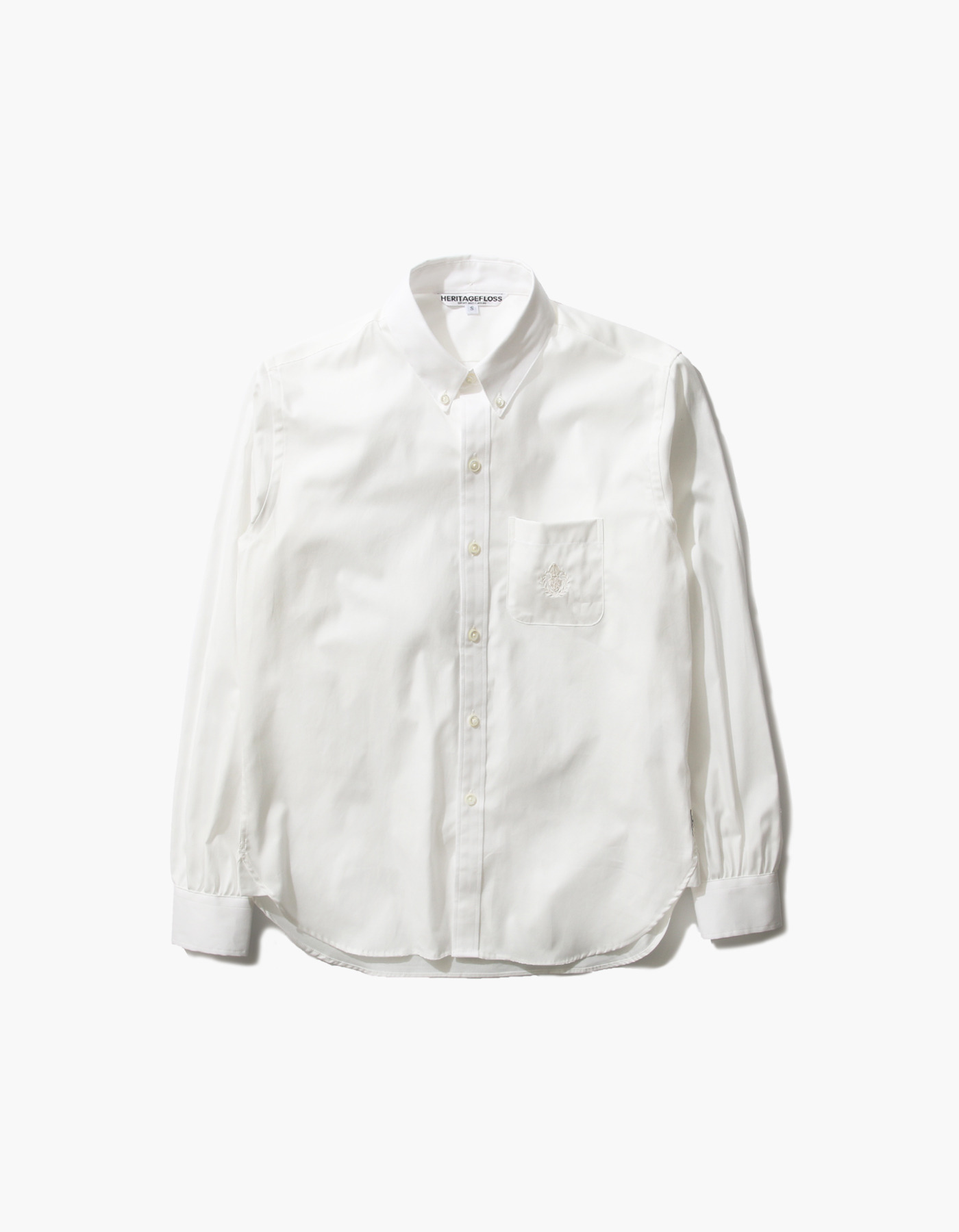 HFC COMBED OXFORD SHIRTS / WHITE