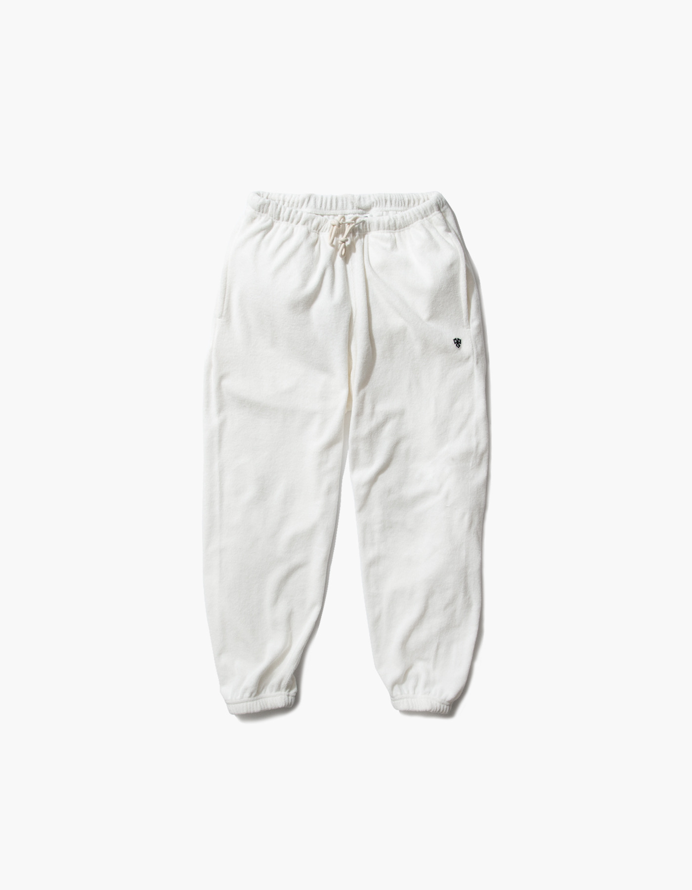 HFC CREST TOWEL JOGGER PANTS / WHITE