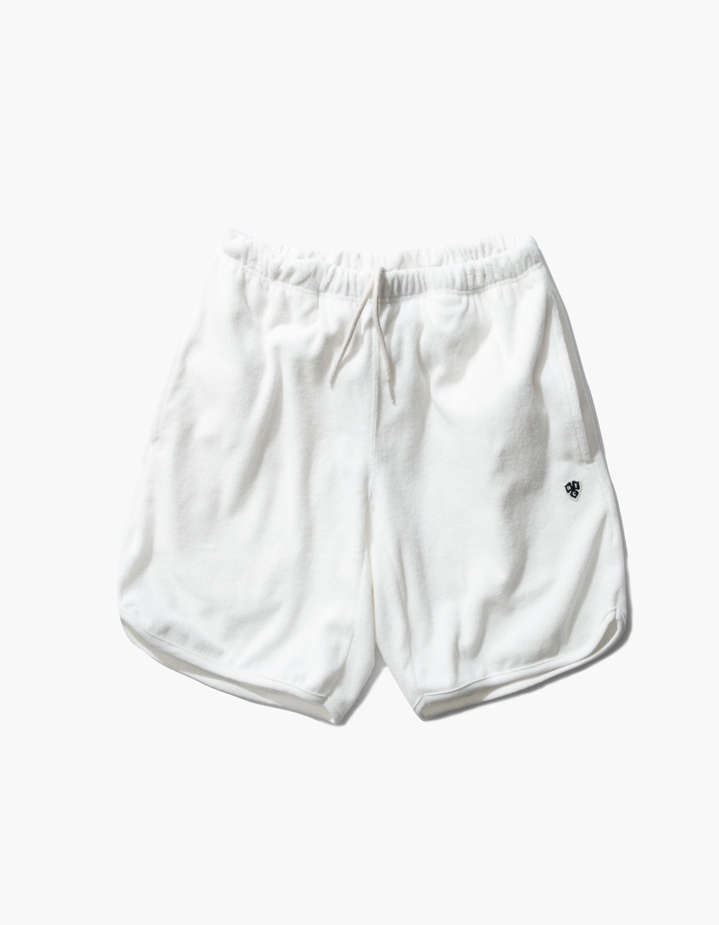 HFC CREST TOWEL SHORTS / WHITE
