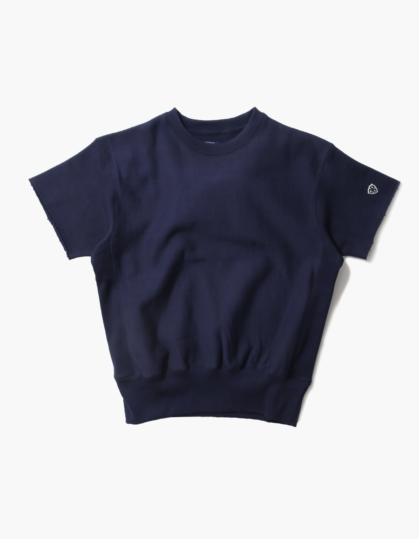 321 GYM CREWNECK HALF SLEEVE / NAVY