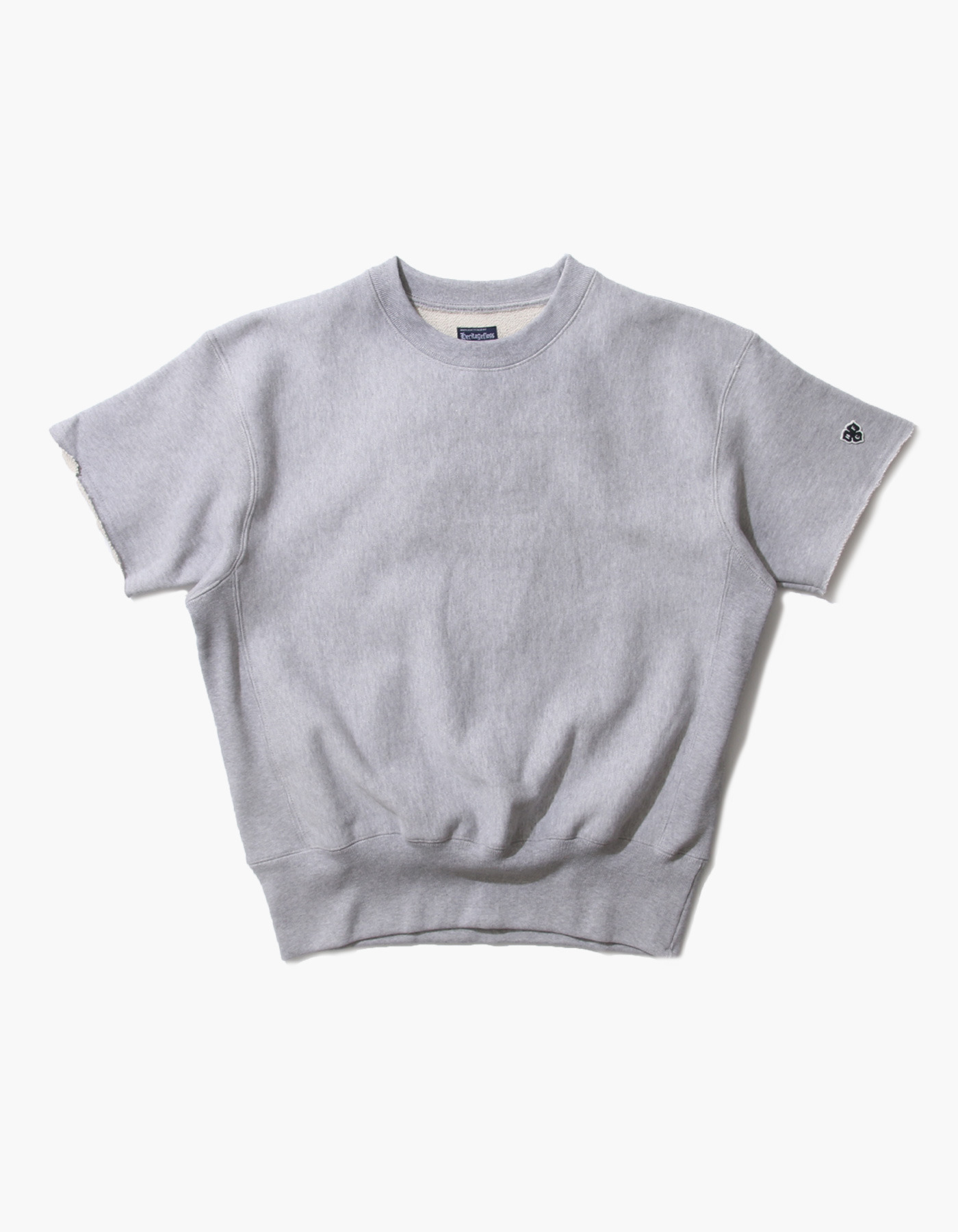 321 GYM CREWNECK HALF SLEEVE / M.GREY (5%)