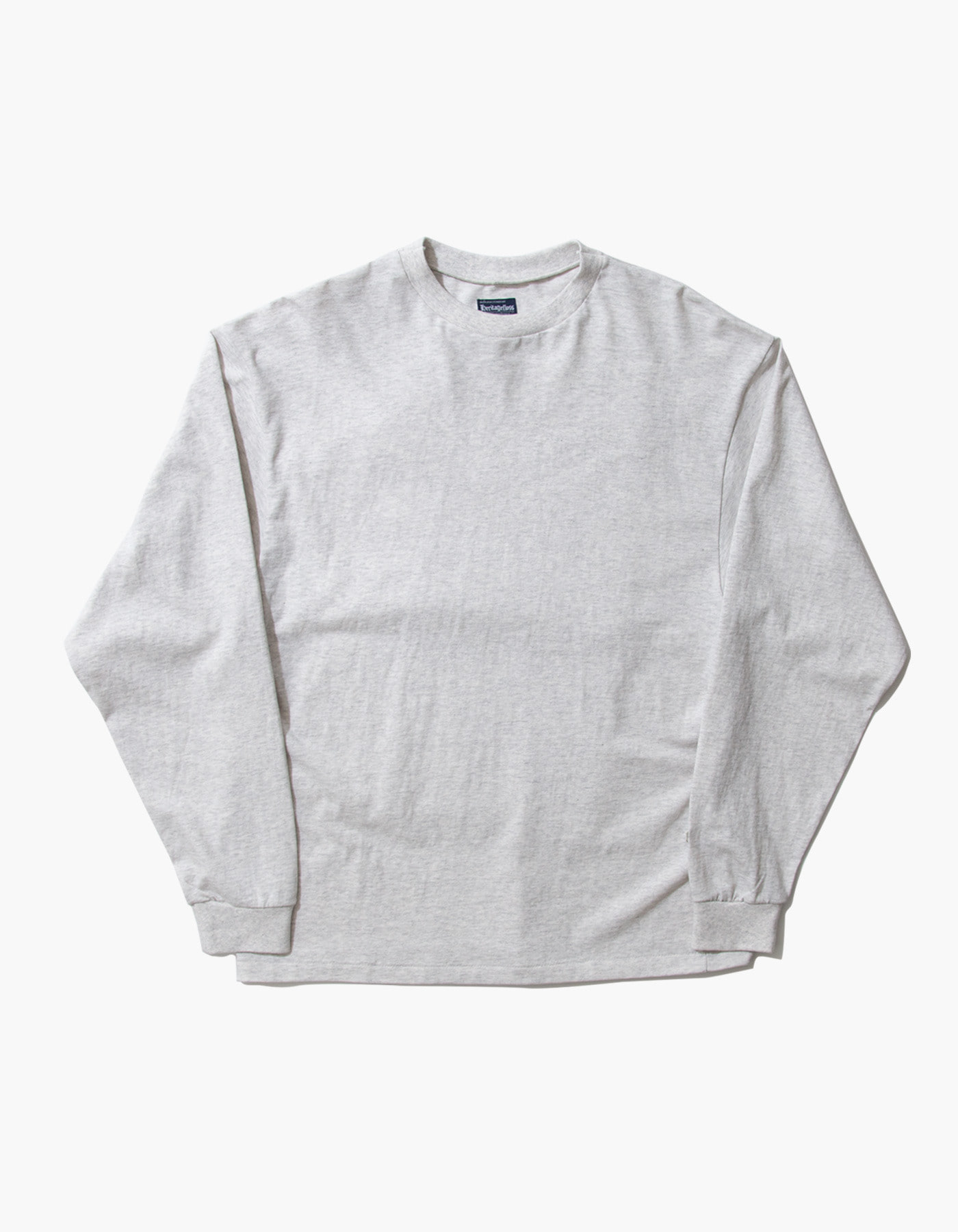 ACS COMPACT YARN LONG SLEEVE / M.GREY(1%)