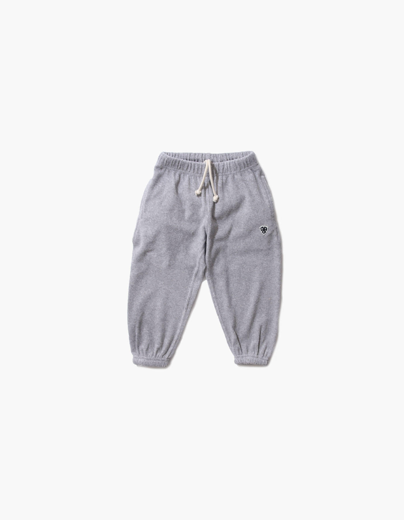 HFC CREST KIDS TOWEL JOGGER PANTS / M.GREY(5%)