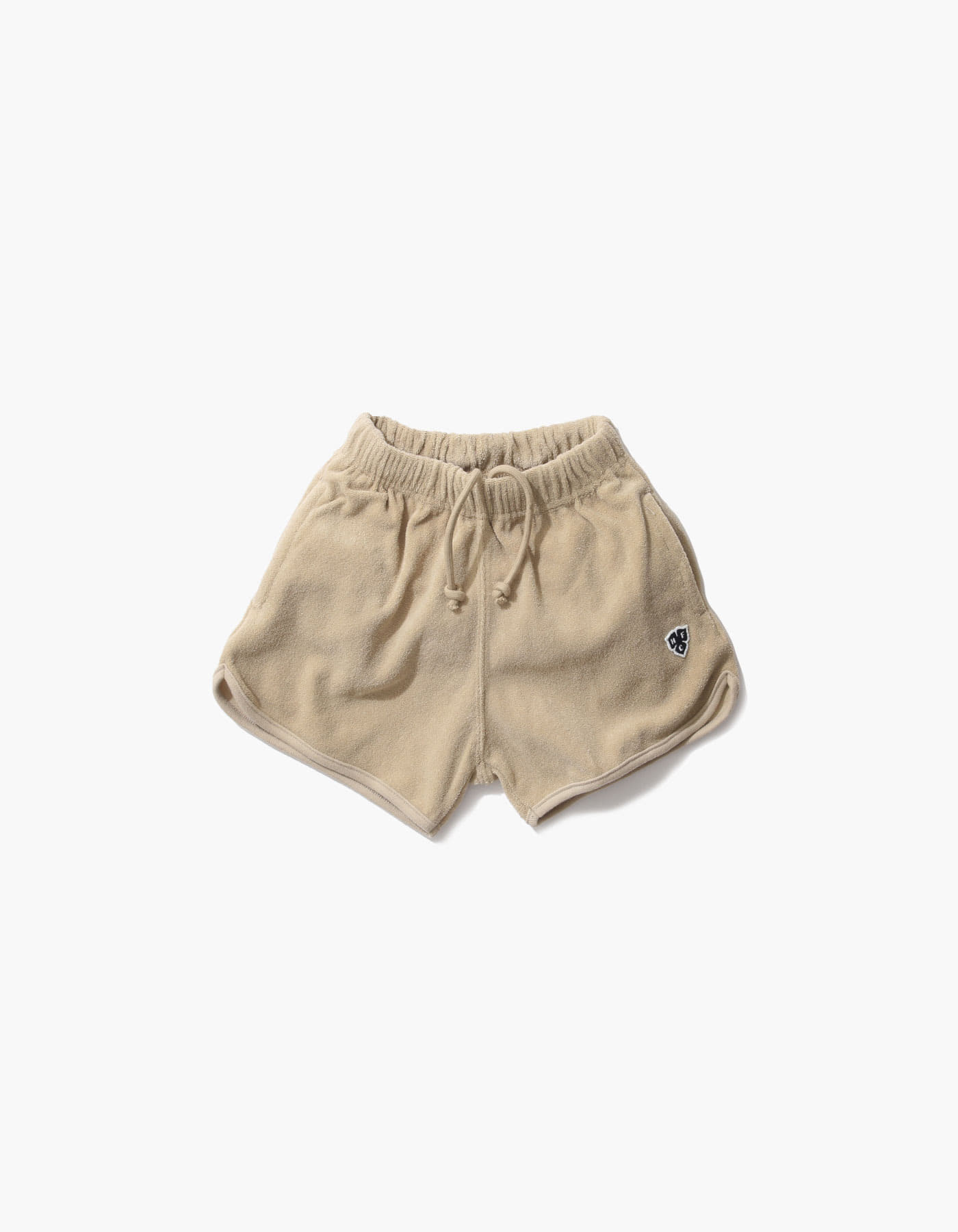 HFC CREST KIDS TOWEL SHORTS / BEIGE