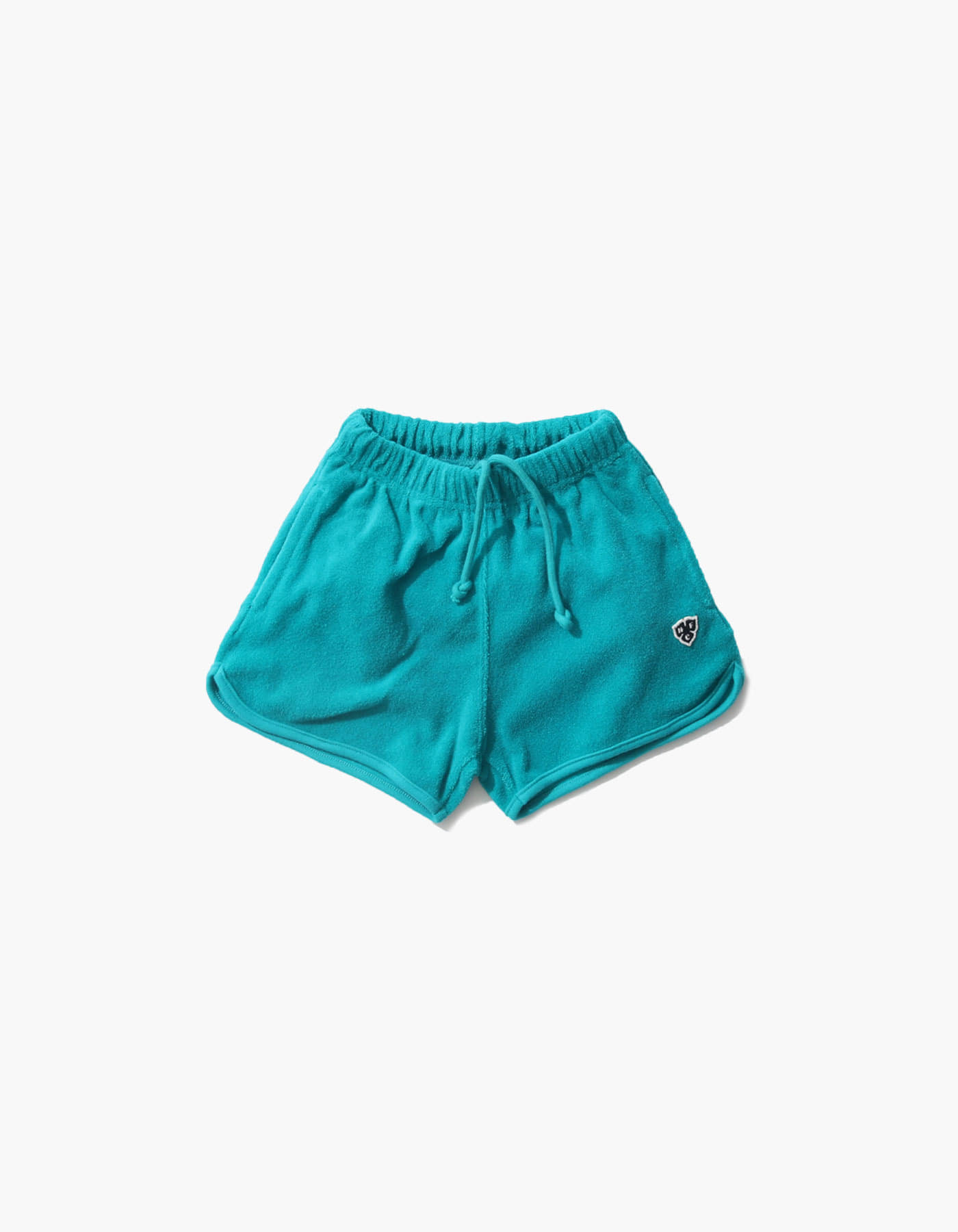 HFC CREST KIDS TOWEL SHORTS / BLUE GREEN