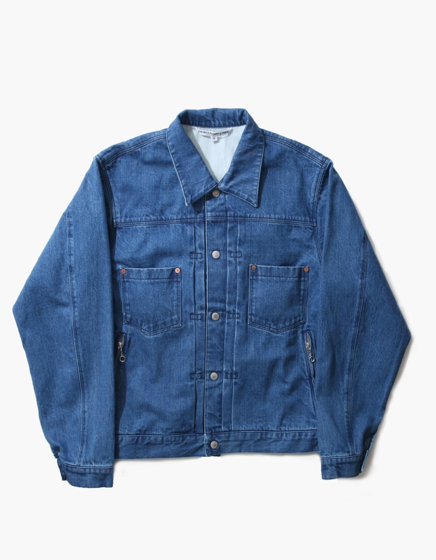 SELVEDGE DENIM TRUCKER JACKET / INDIGO