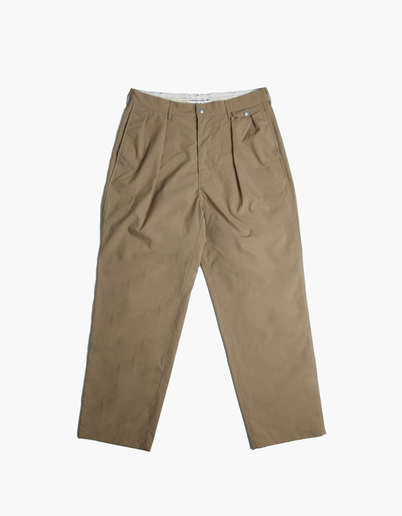 QUICK-DRYING NYLON CHINO PANTS / BEIGE