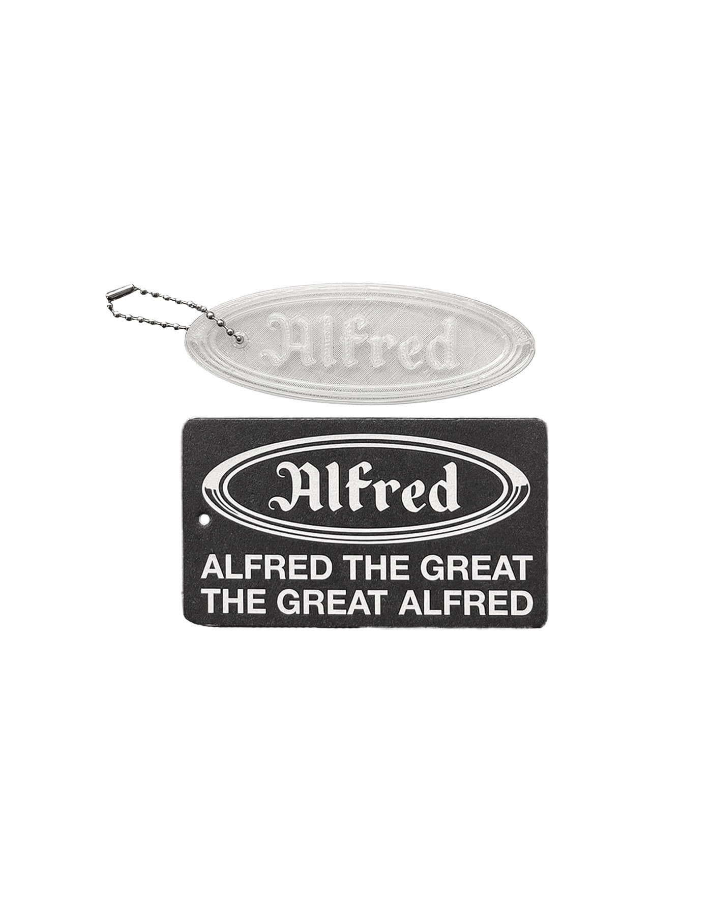FRED KEY TAG / TRANSPARENT