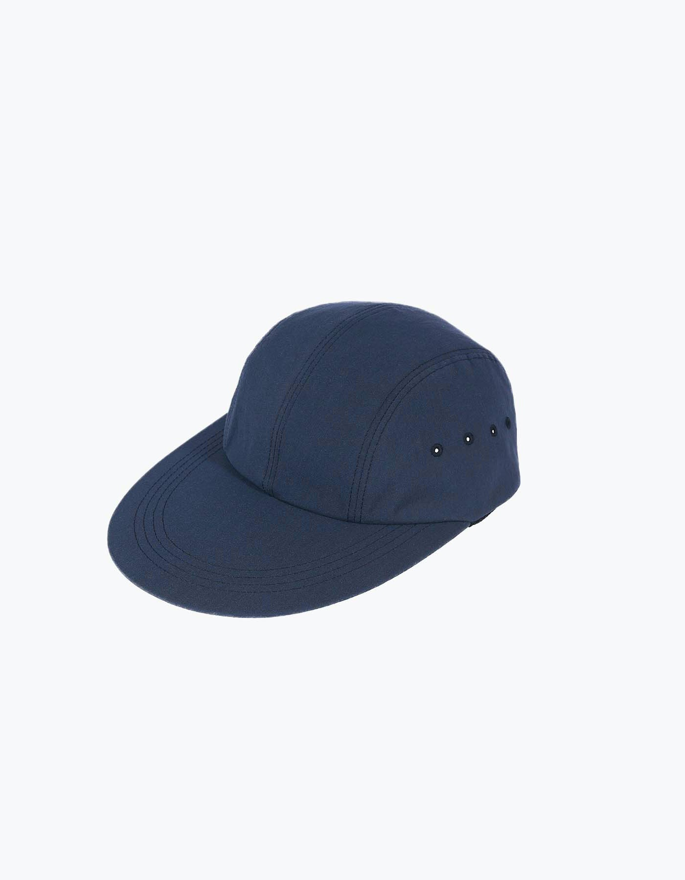 NYLON LONG BILL CAP / NAVY