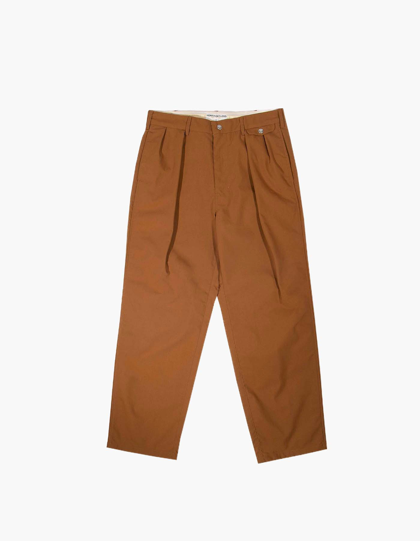 QUICK-DRYING NYLON CHINO PANTS / CAMEL