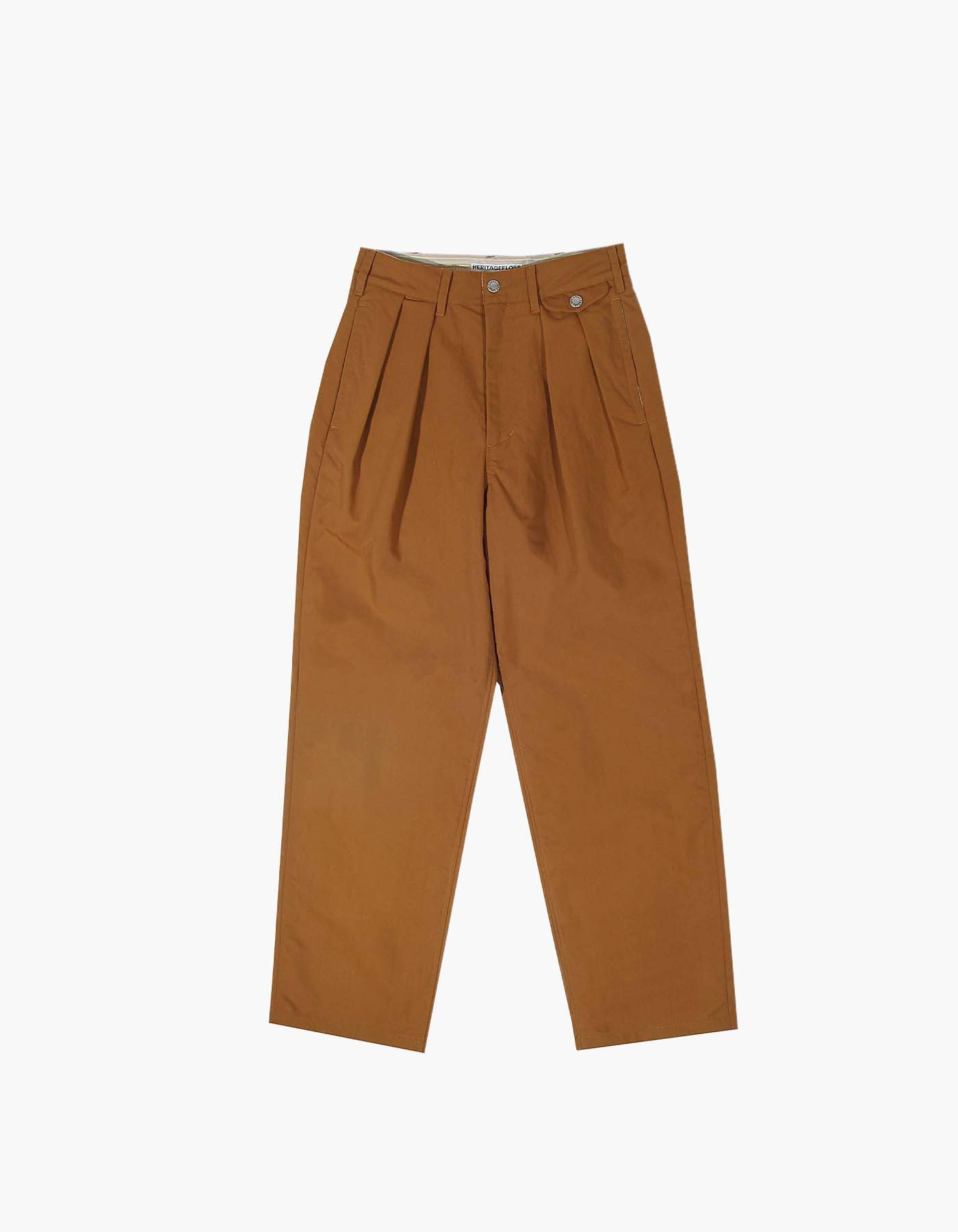 QUICK-DRYING NYLON CHINO PANTS (W) / CAMEL