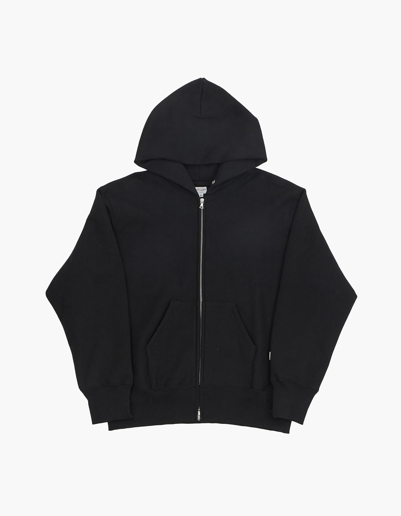 HELINOX X HERITAGEFLOSS 221 REVERSE ZIP-UP / BLACK