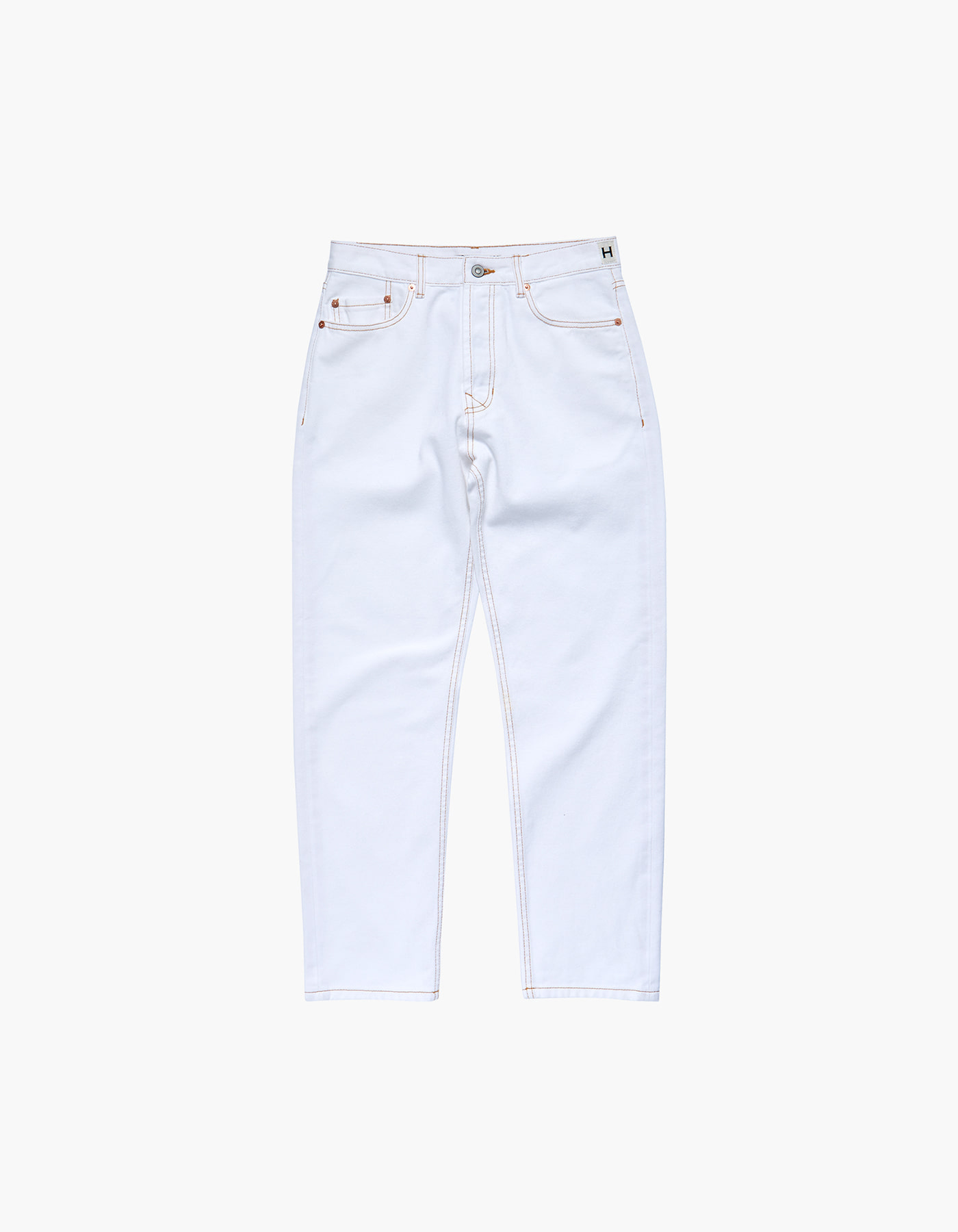 HFC CREST STONE JEANS (M) / WHITE