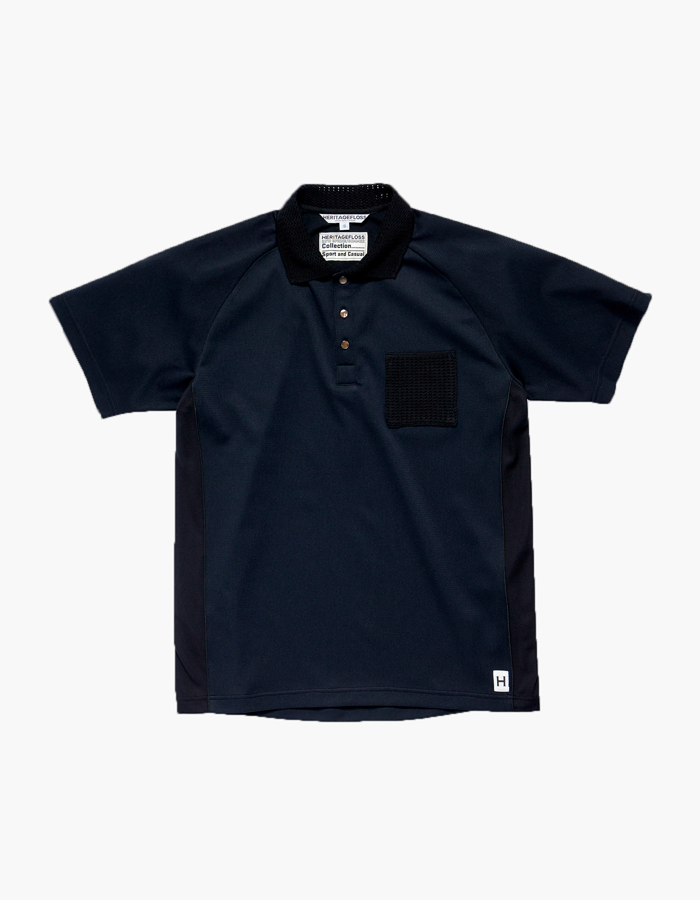 HFC CRICKET POLO SHIRTS / BLACK
