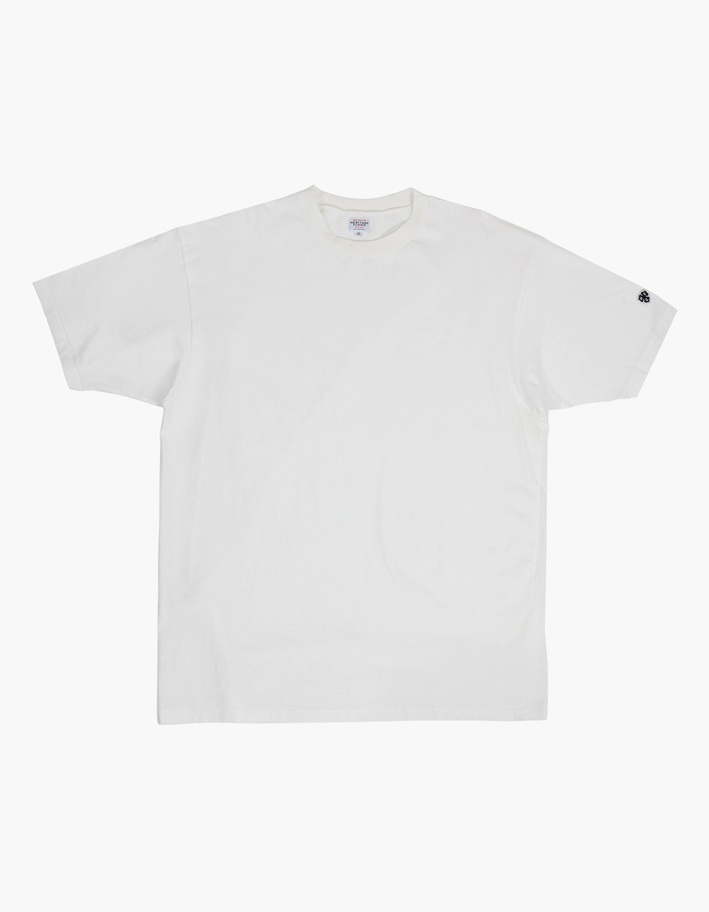 PIGMENT COMPACT YARN T-SHIRTS / WHITE