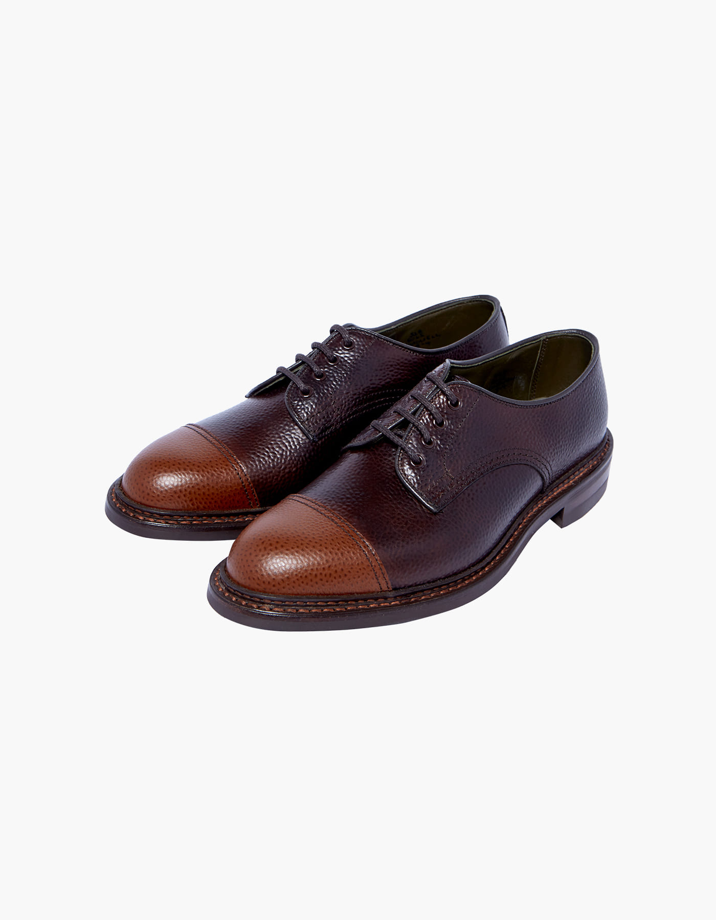 TRICKER'S X HERITAGEFLOSS CHADWICK (W) / BROWN