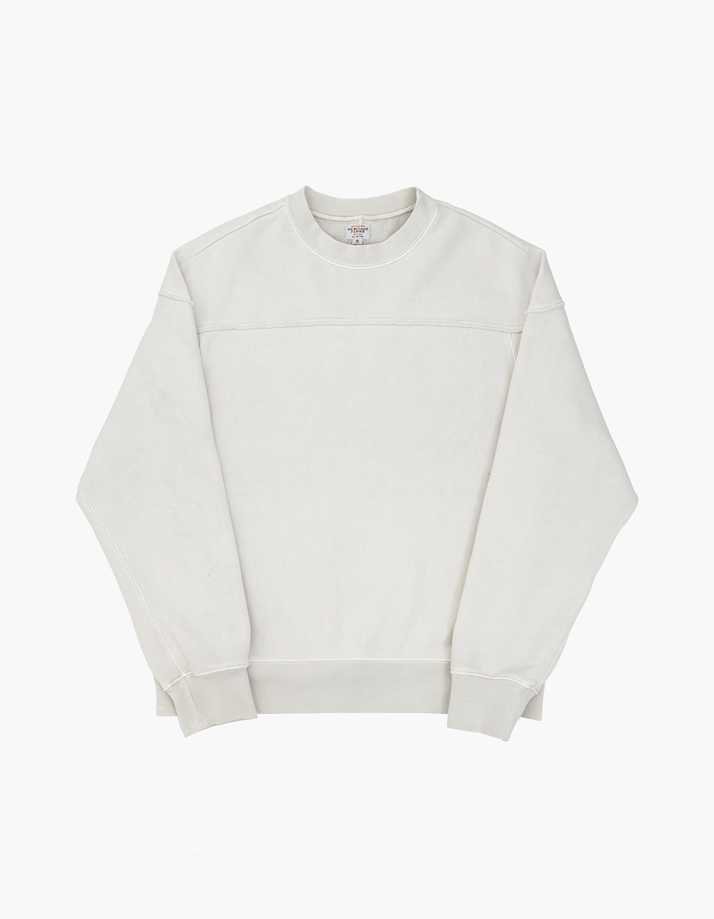 221 PIGMENT CREWNECK / LIGHT GREY