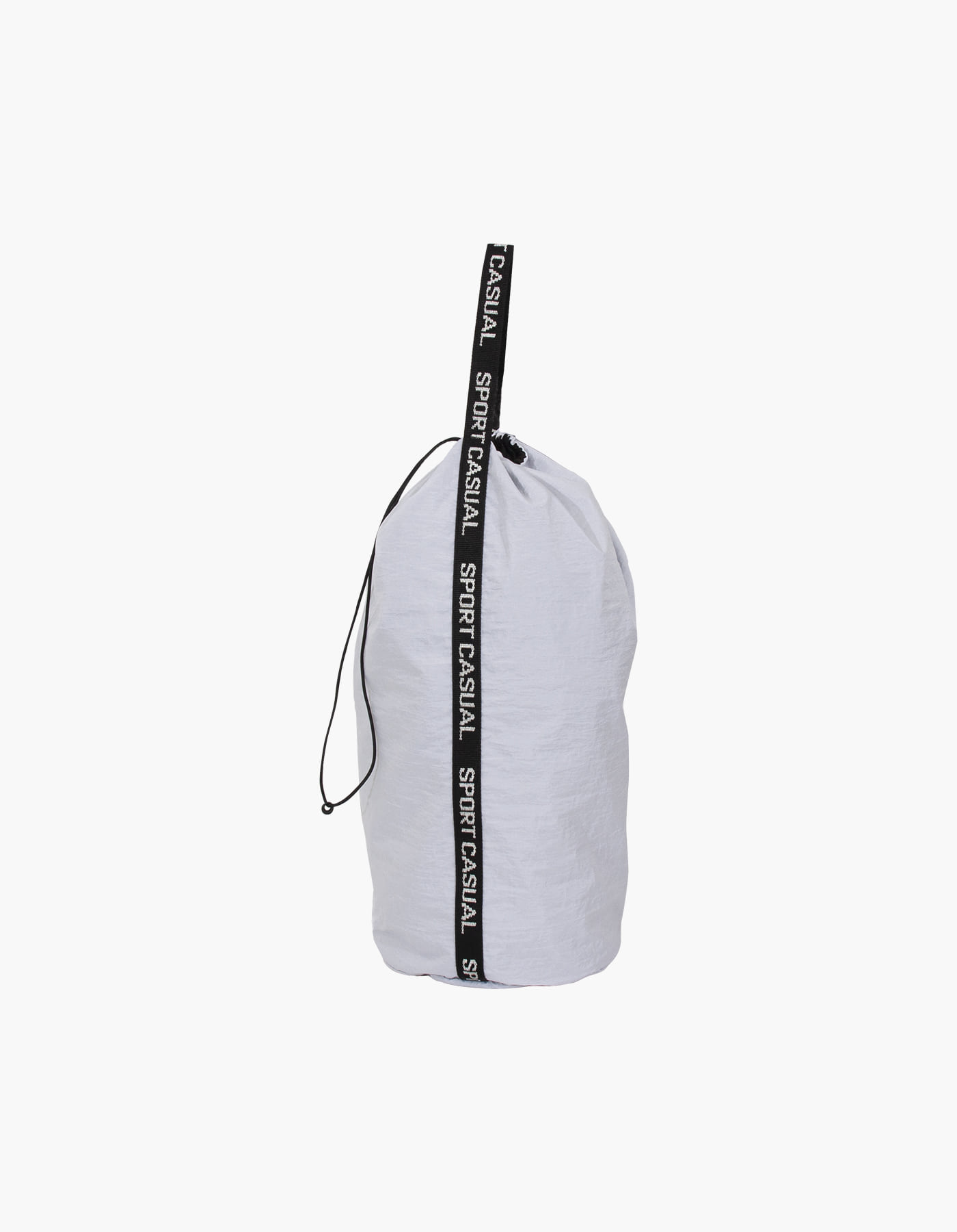 NYLON DIAMOND WASHER SPORTS BAG / WHITE