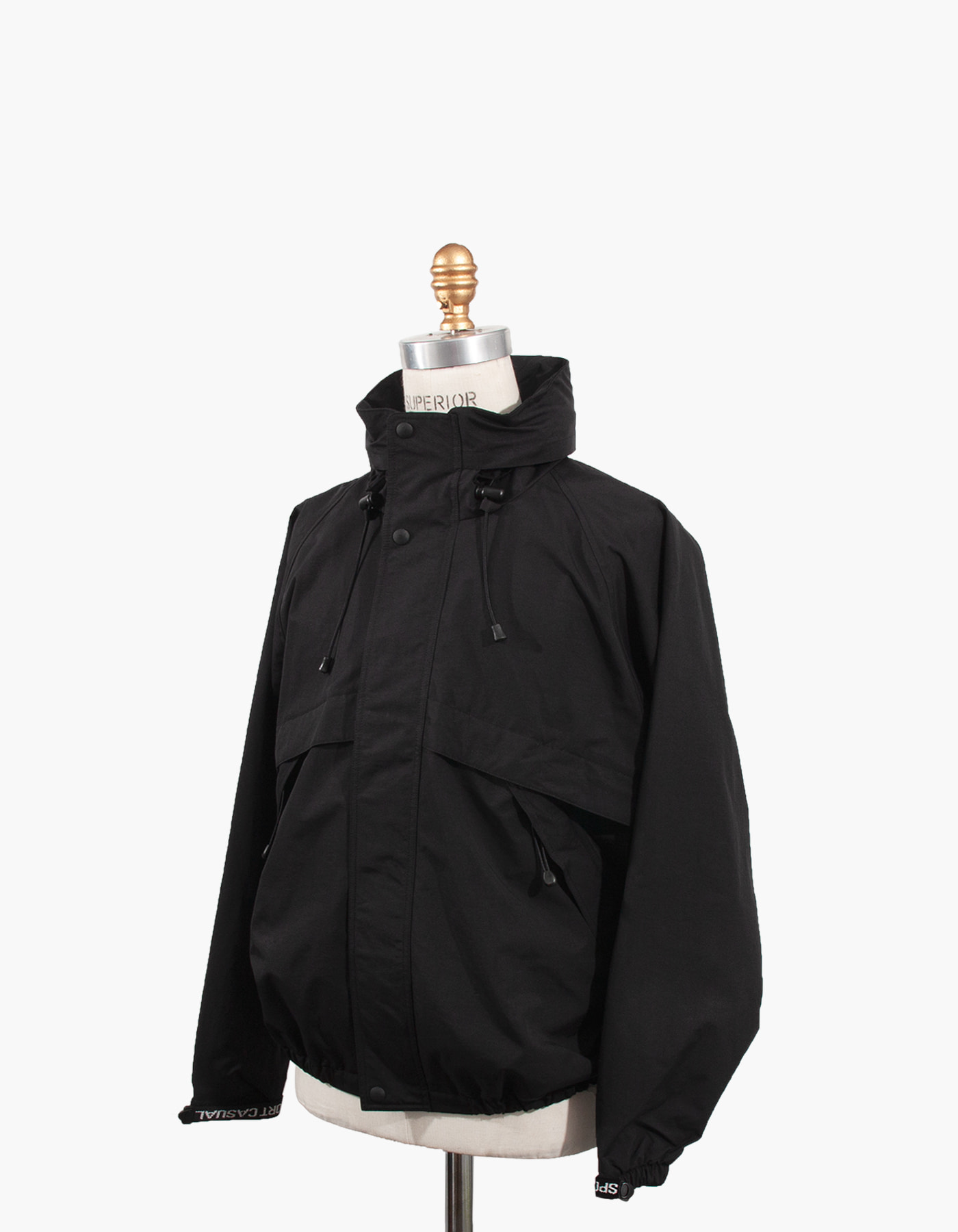 SAILING JACKET / BLACK