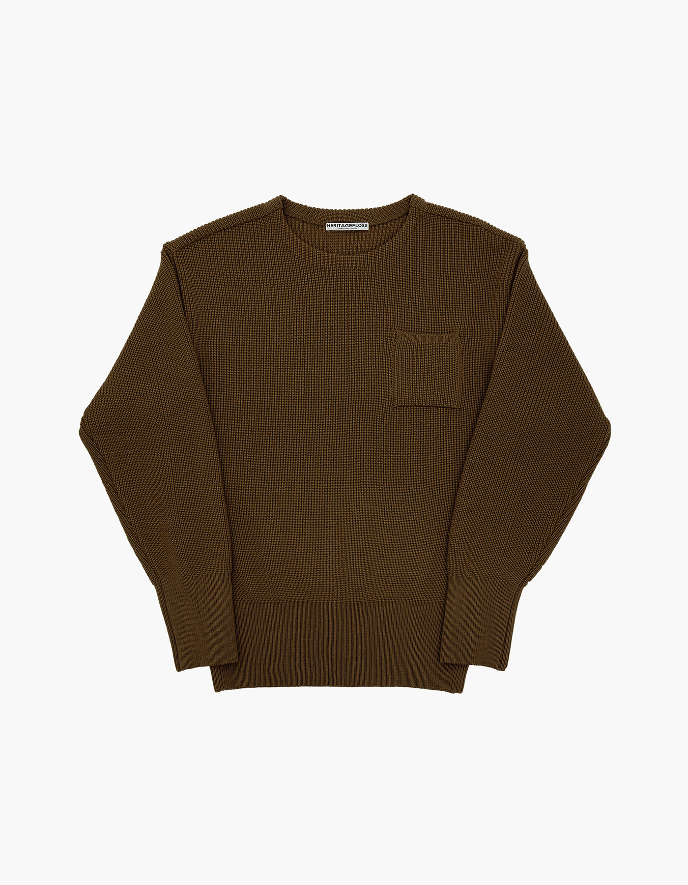 WOOL KNIT / BROWN