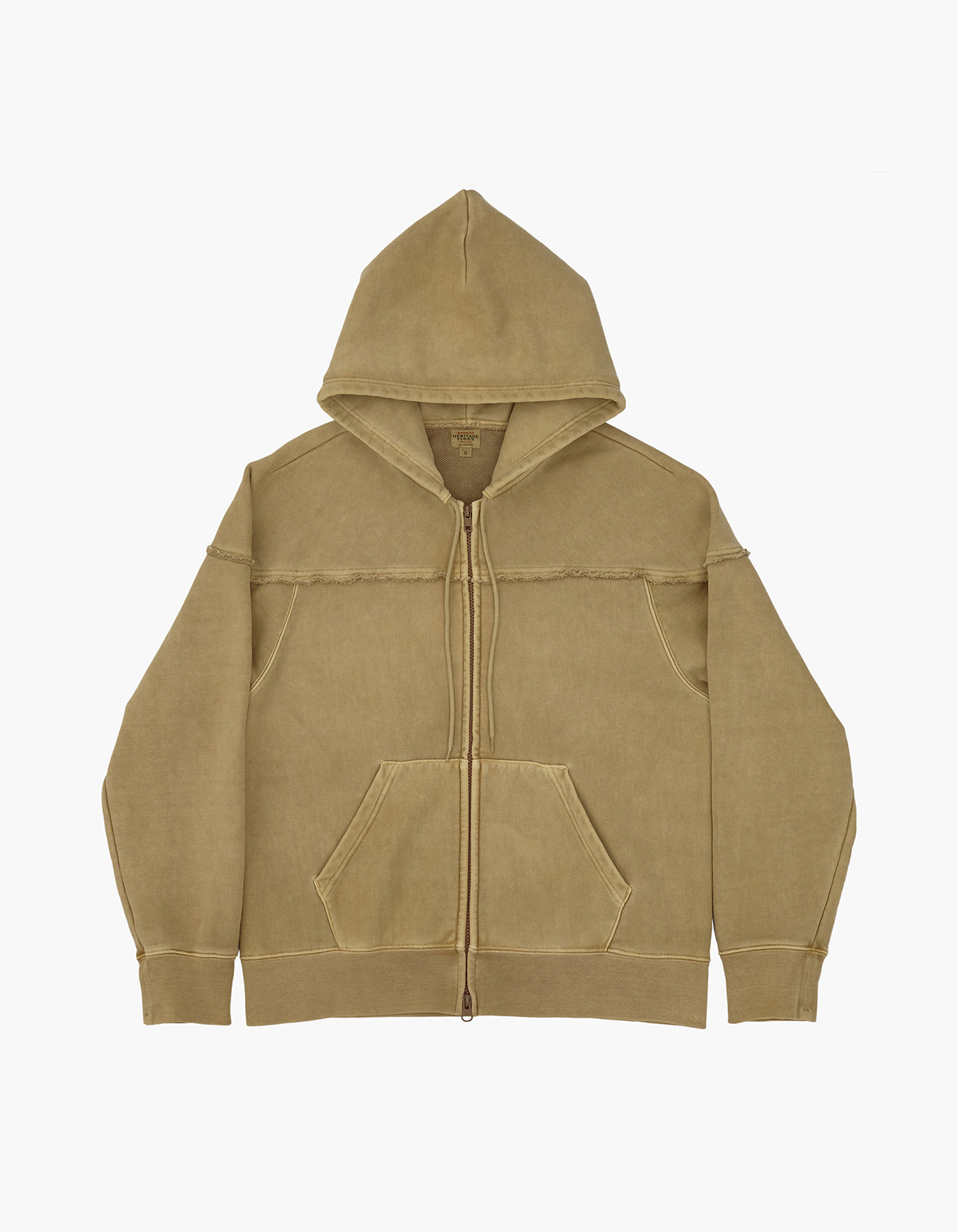221 PIGMENT ZIP-UP / DESERT KHAKI