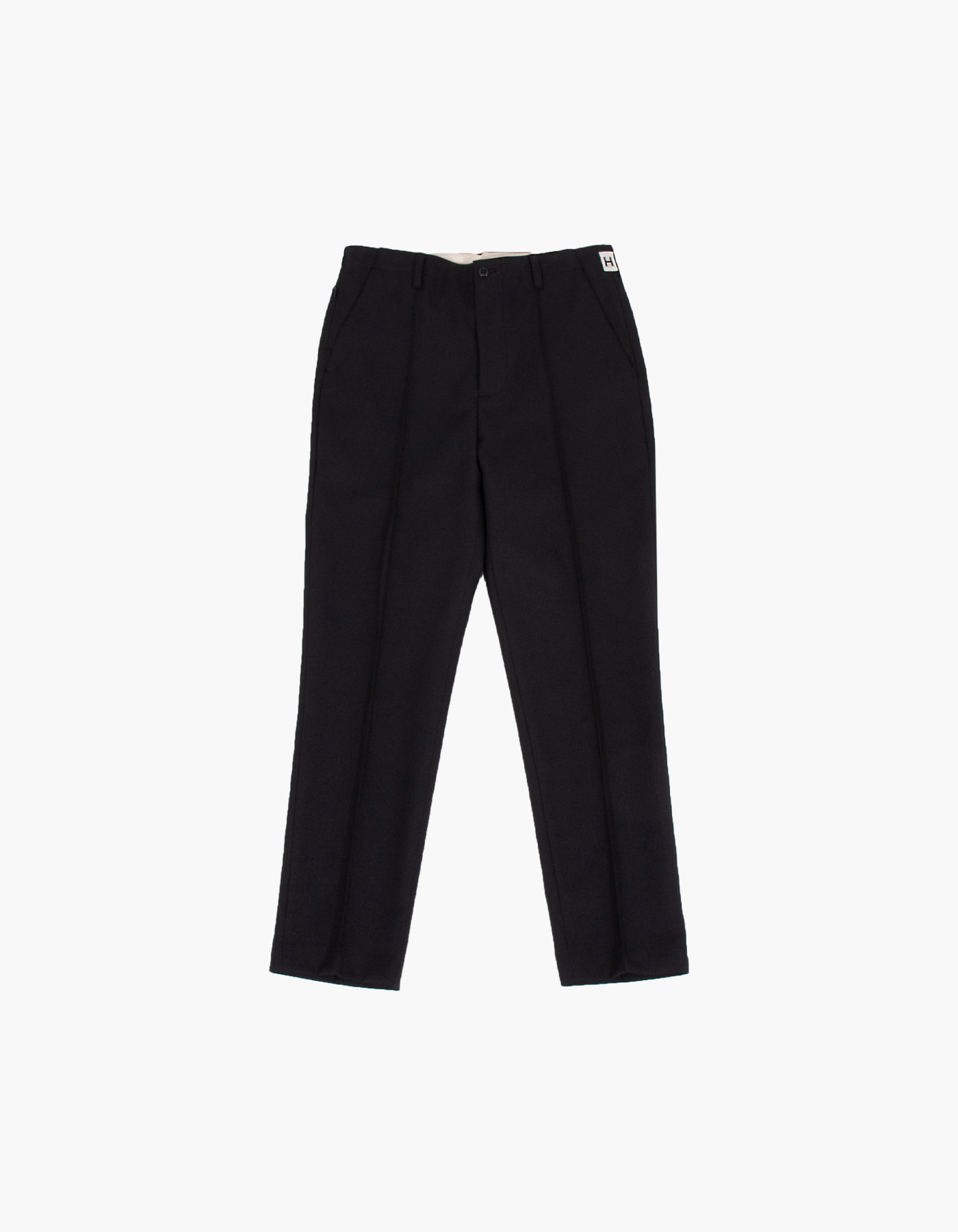 851 PIN TUCK CHINO PANTS / BLACK