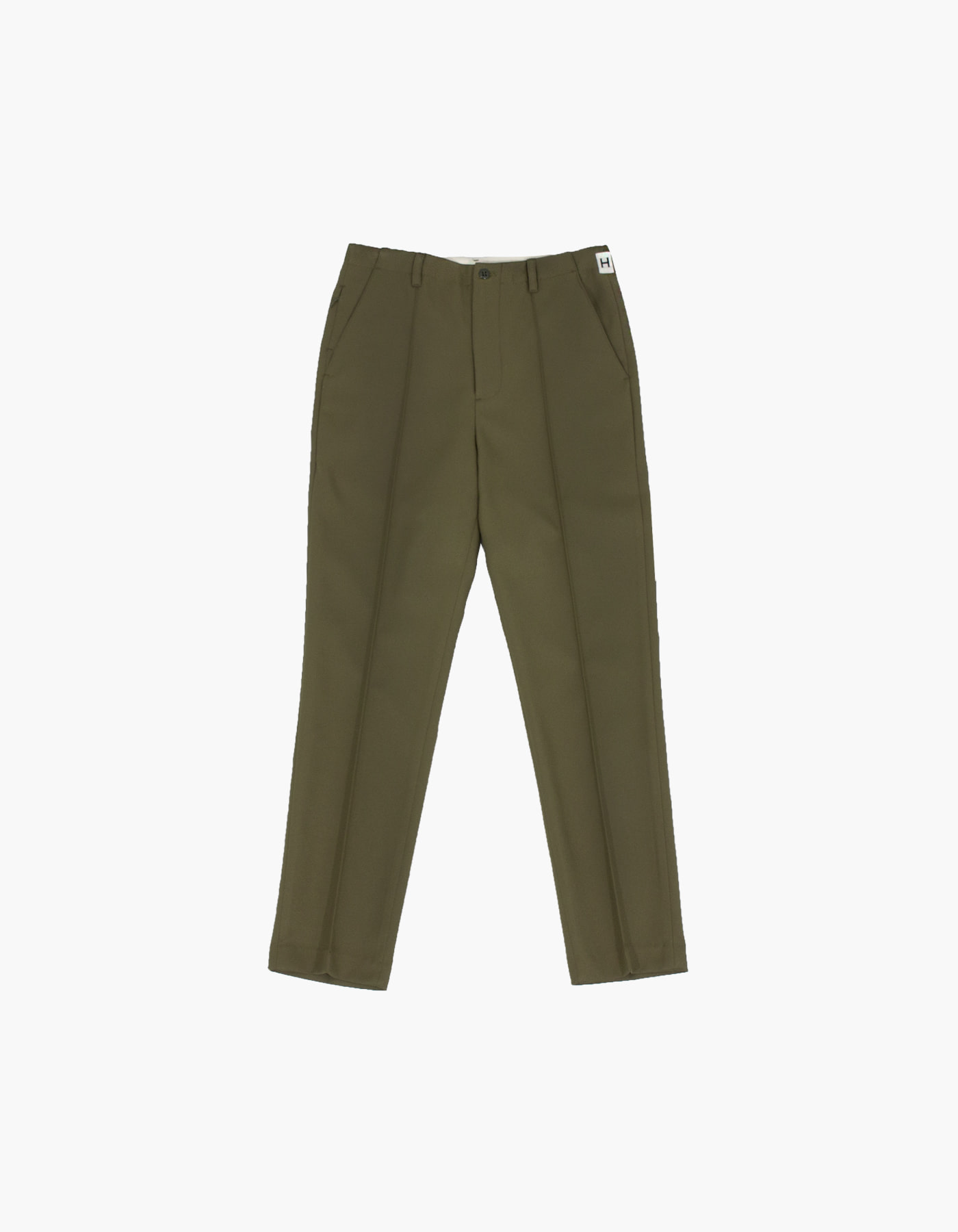 851 PIN TUCK CHINO PANTS / KHAKI