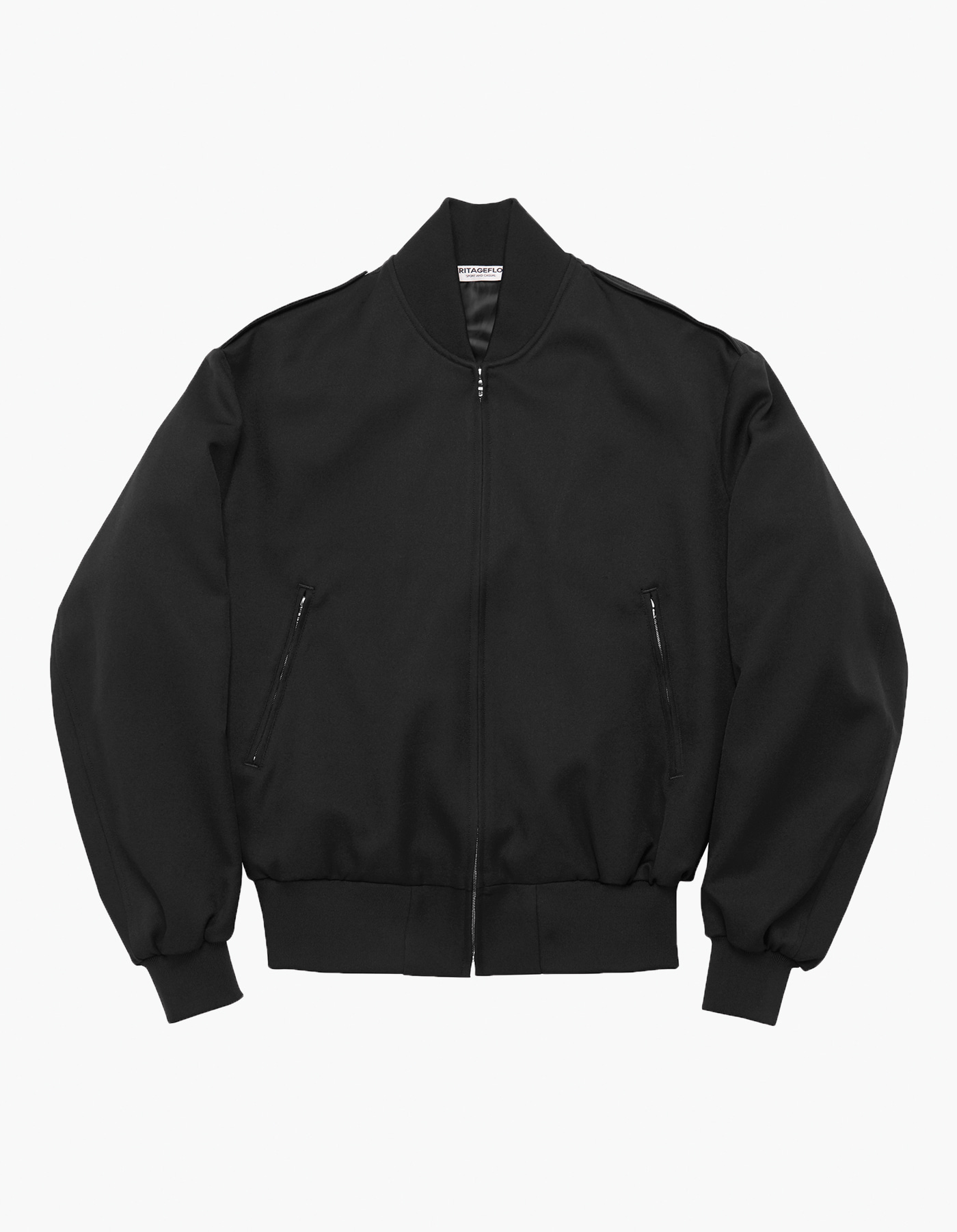 OFFICER BLOUSON / BLACK