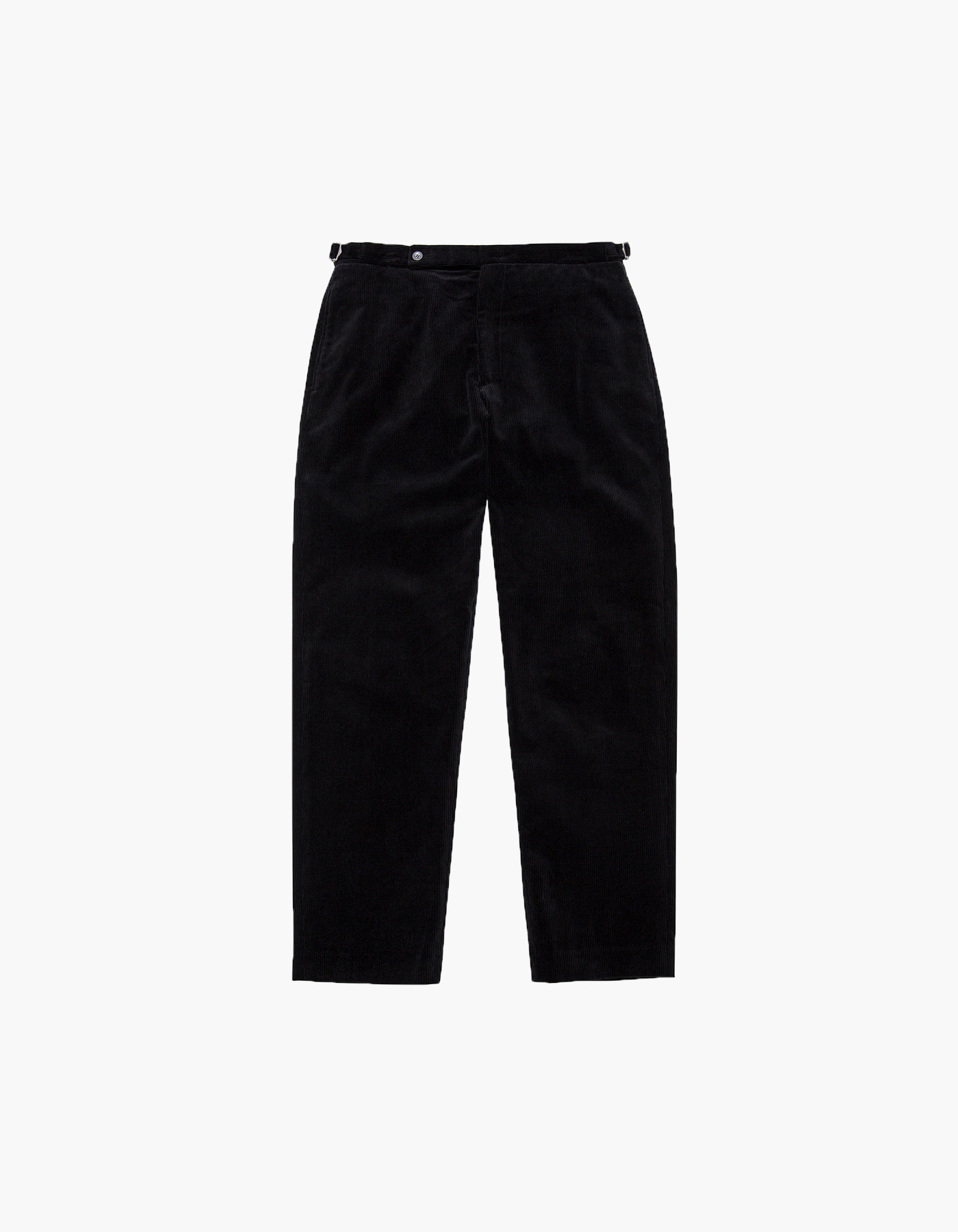 CORDUROY IVY PANTS II / BLACK