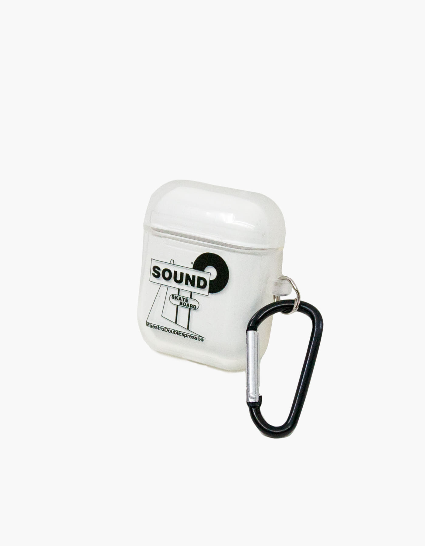 SOUNDSK8 AIRPODS CASE II / TRANSPARENT
