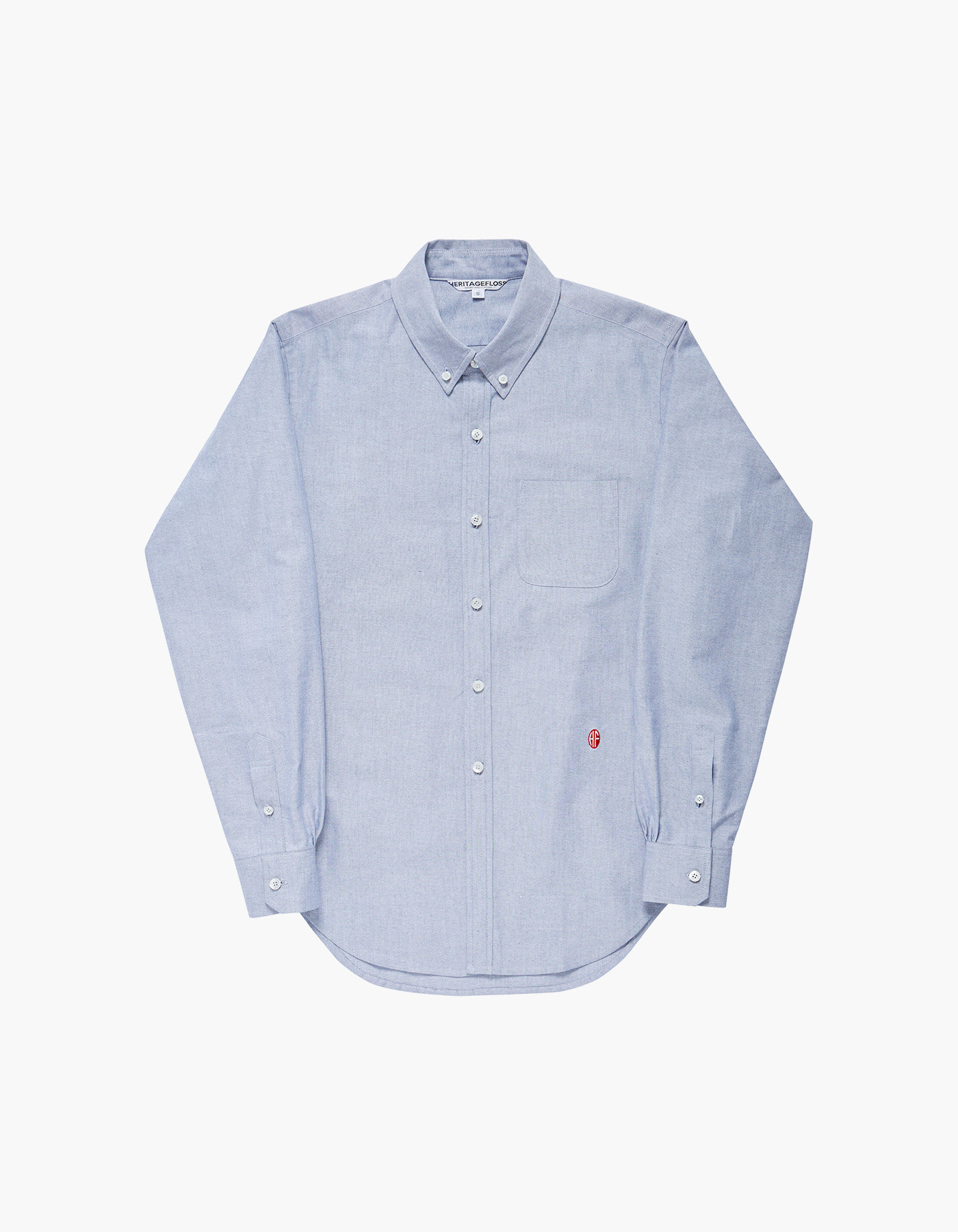NON-WASHED OXFORD SPORT SHIRTS / NAVY