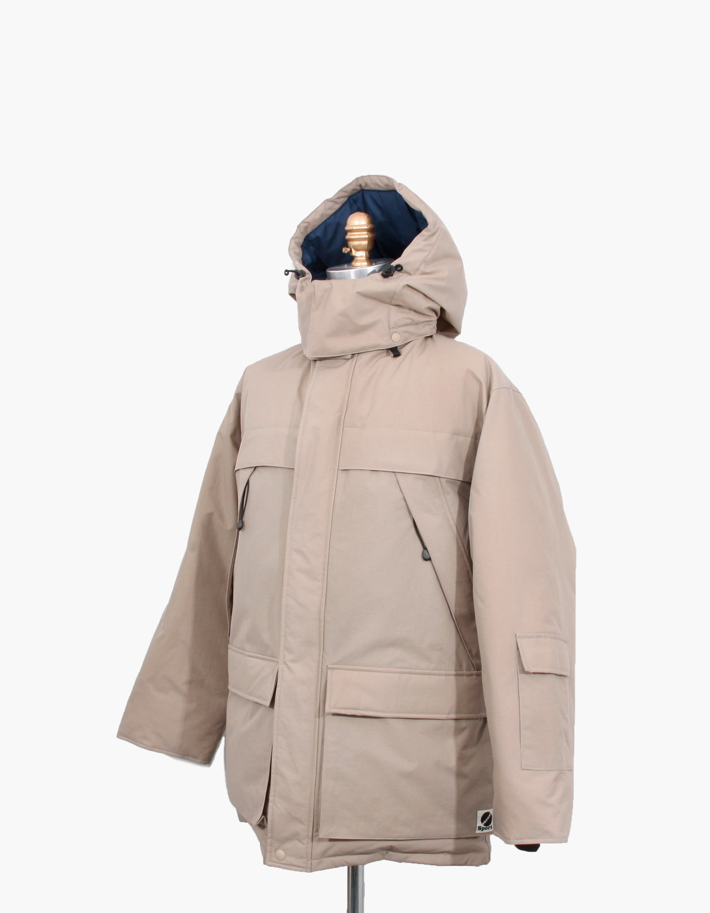 MOUNTAIN GOOSE DOWN PARKA / BEIGE