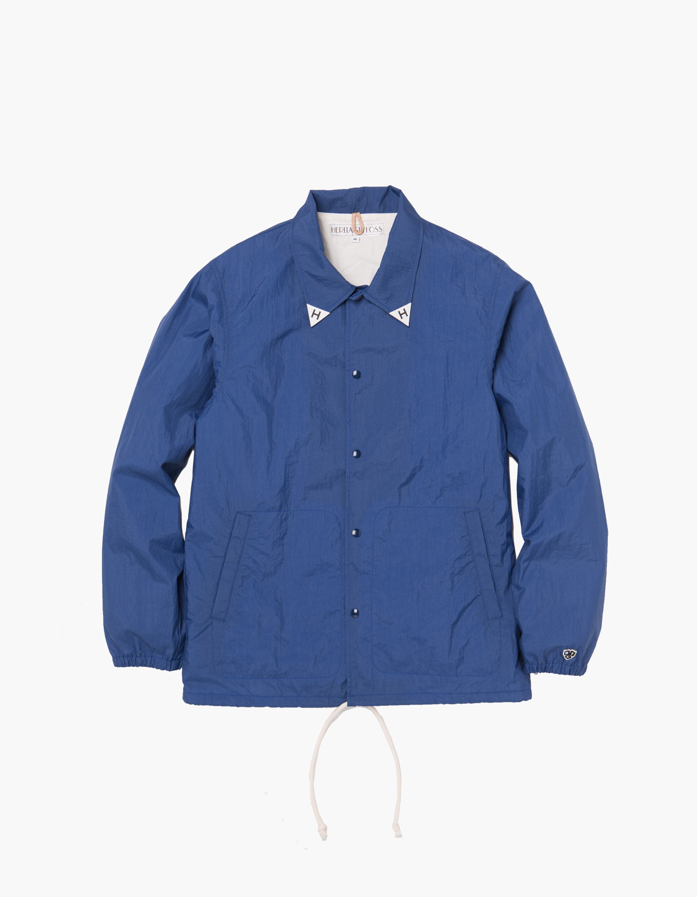 YACHT CLUB COACH JACKET / BLUE